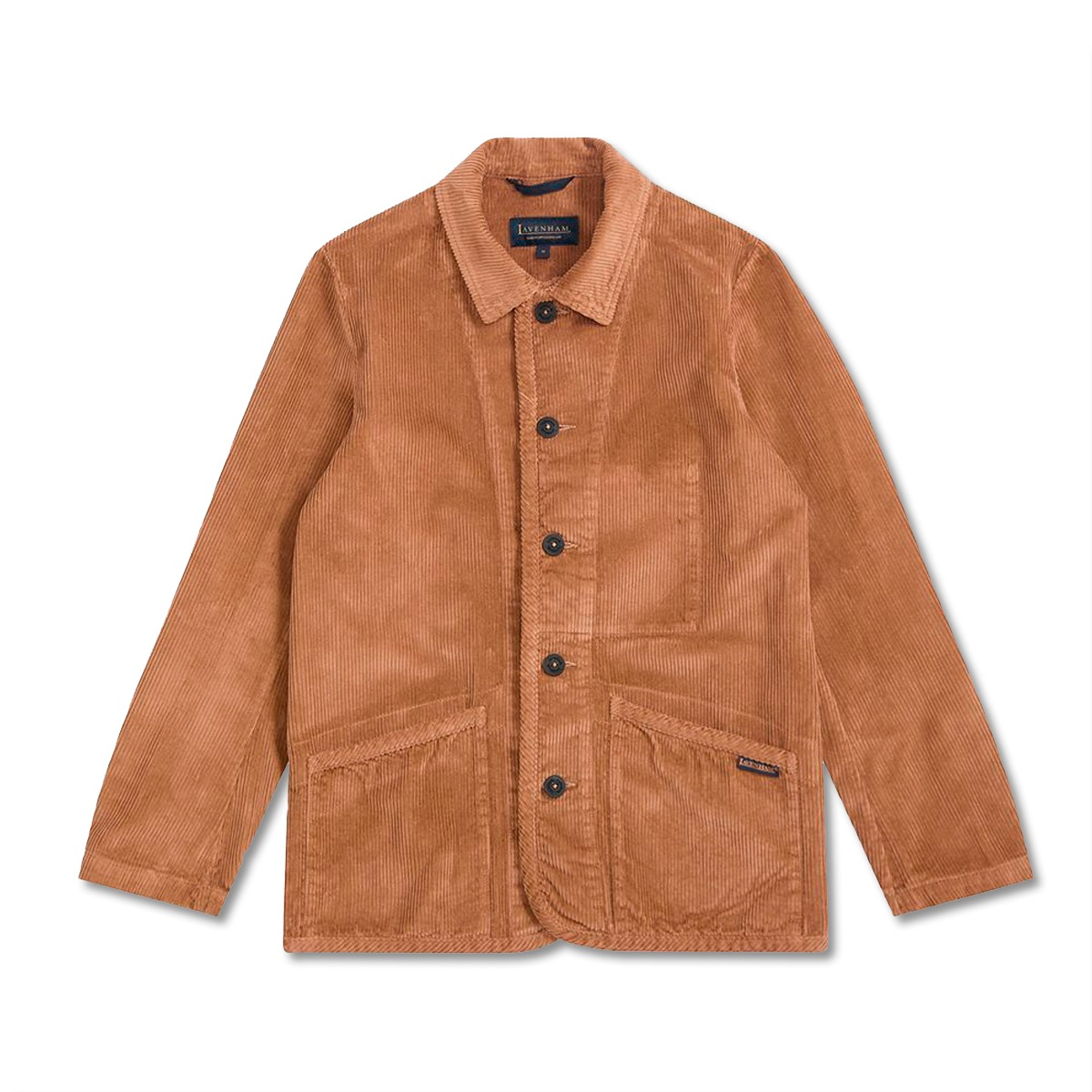 [LAVENHAM] WASHED CORD WORKER JACKET 'FAWN'