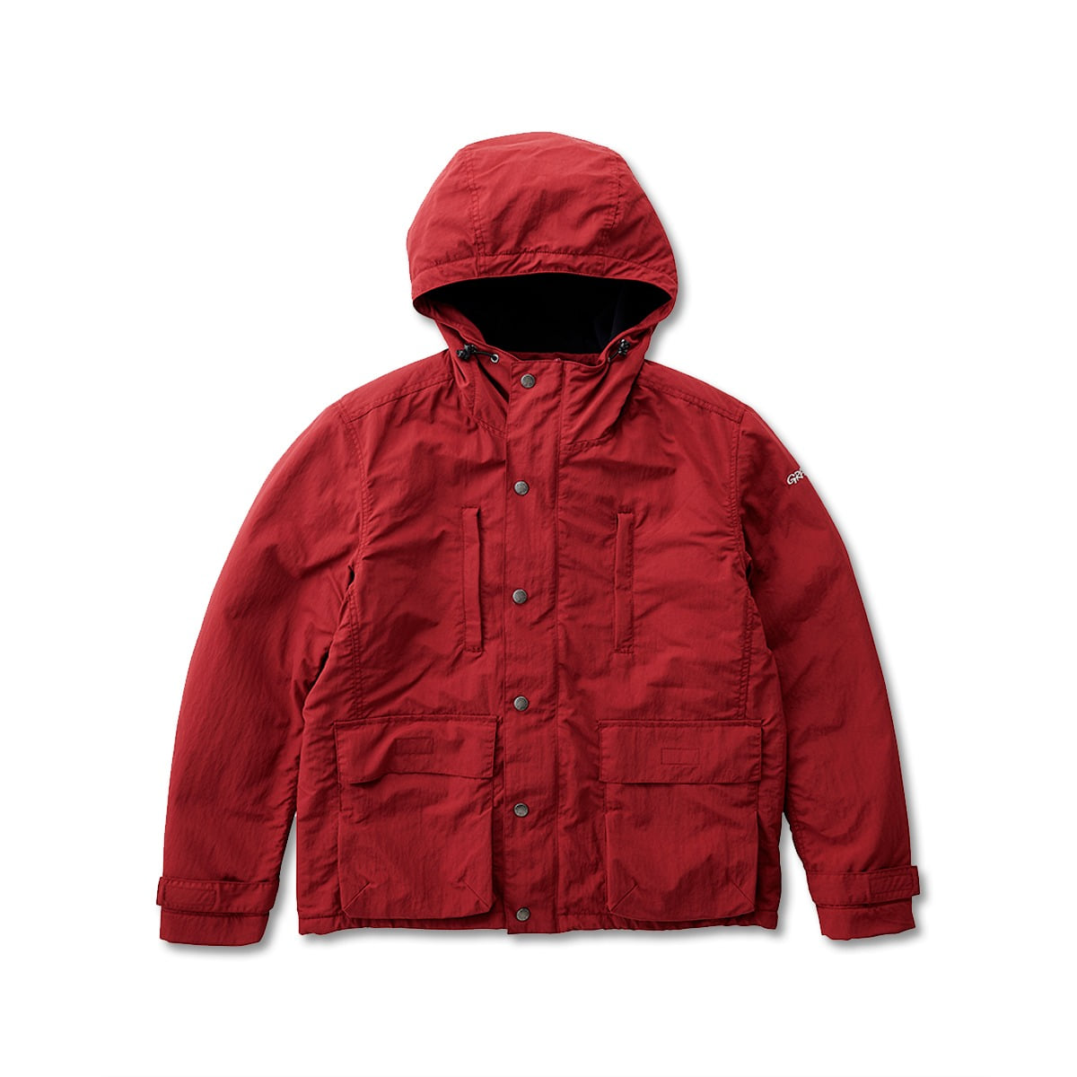 [GRAMICCI] SHELL MOUNTAIN PARKA 'BURGUNDY'