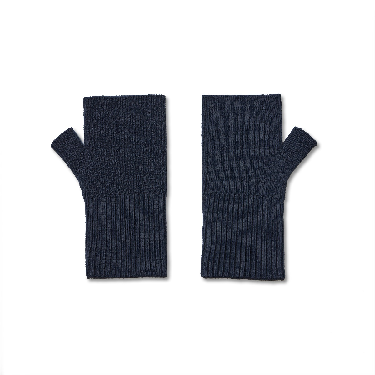 [YOUTH] FINGERLESS GLOVES 'NAVY'