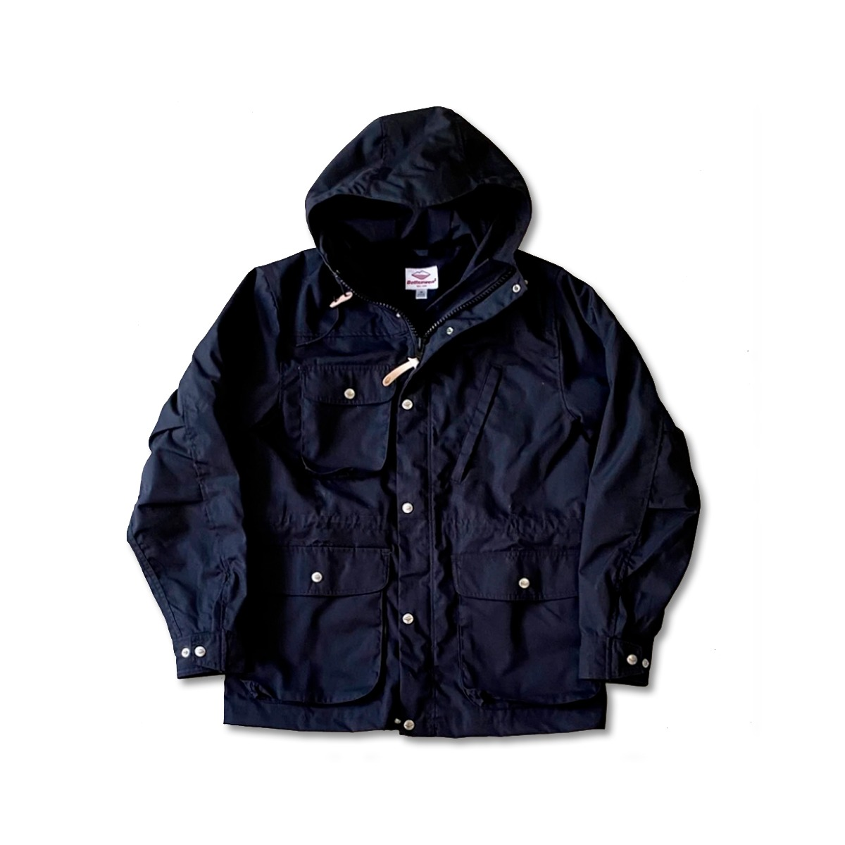 [BATTENWEAR] TRAVEL SHELL PARKA 'BLACKxBLACK'