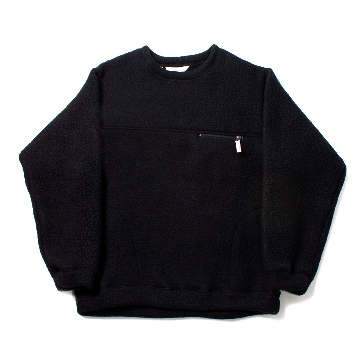 [BATTENWEAR] LODGE CREWNECK 'BLACK'