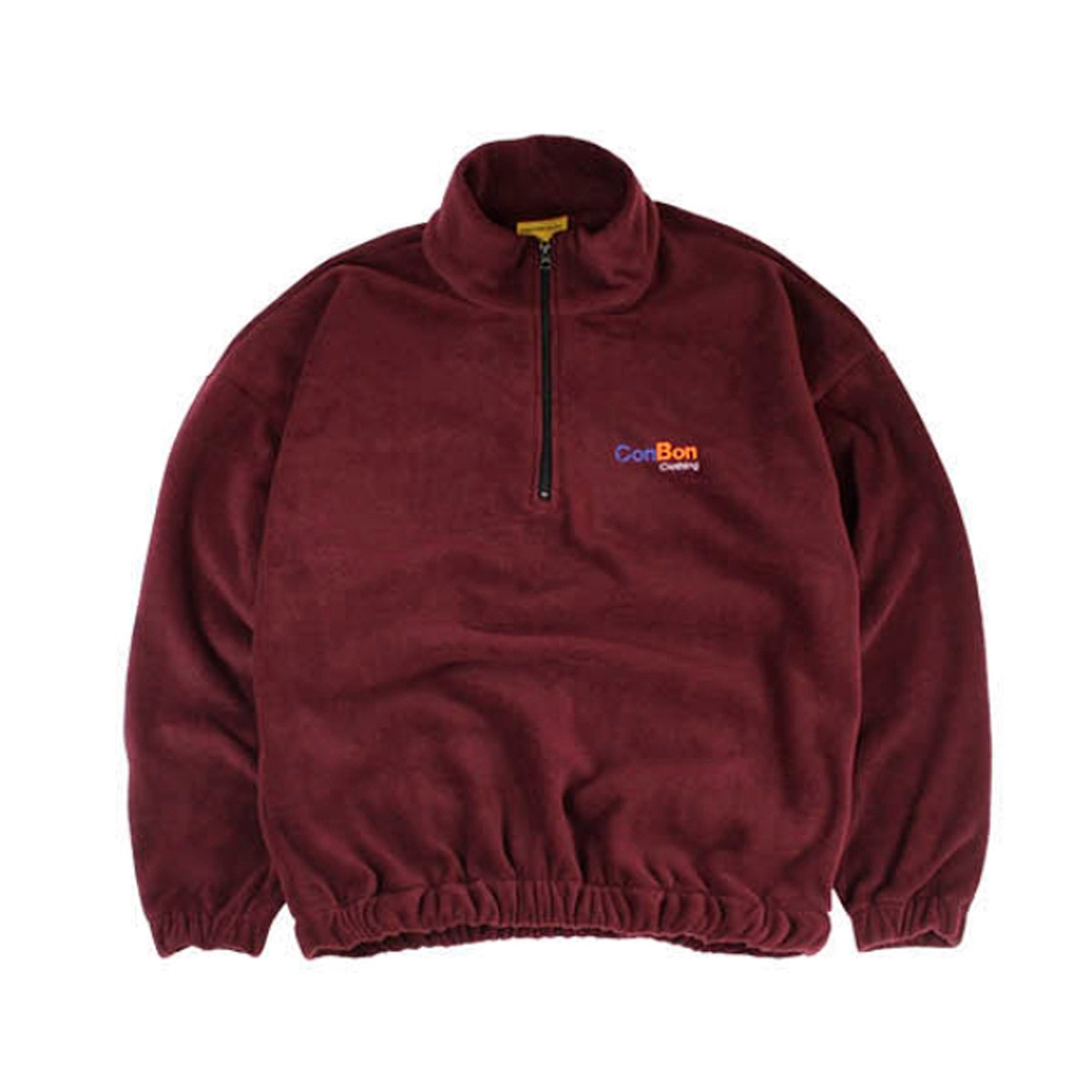 [CONICHIWA BONJOUR] EXPRESS FLEECE ZIP 'WINE'