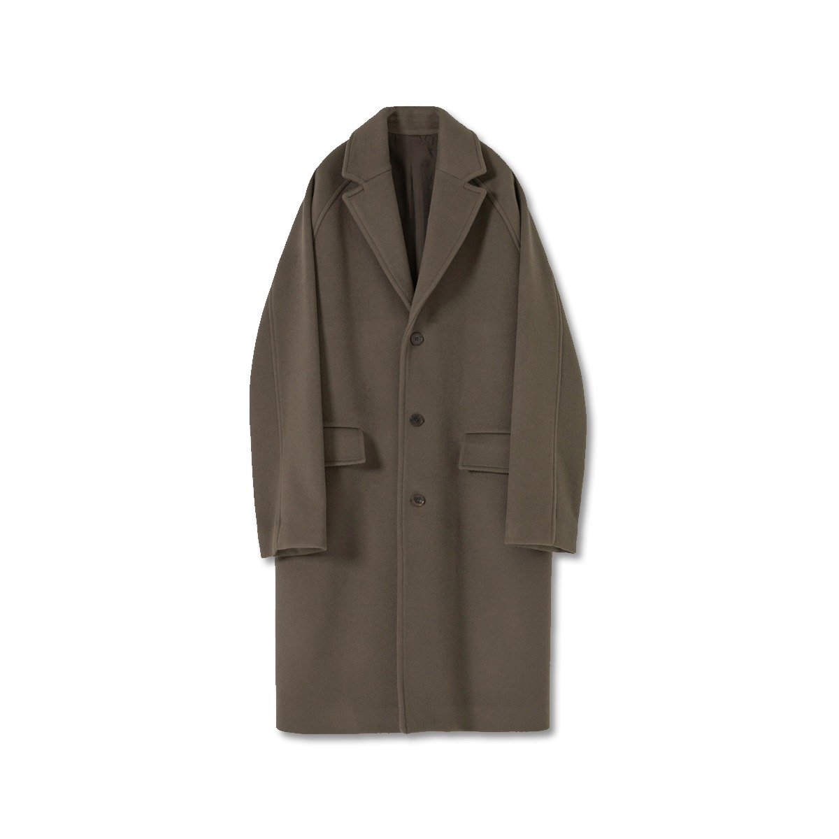 [YOUTH] CHESTERFIELD COAT 'KHAKI'