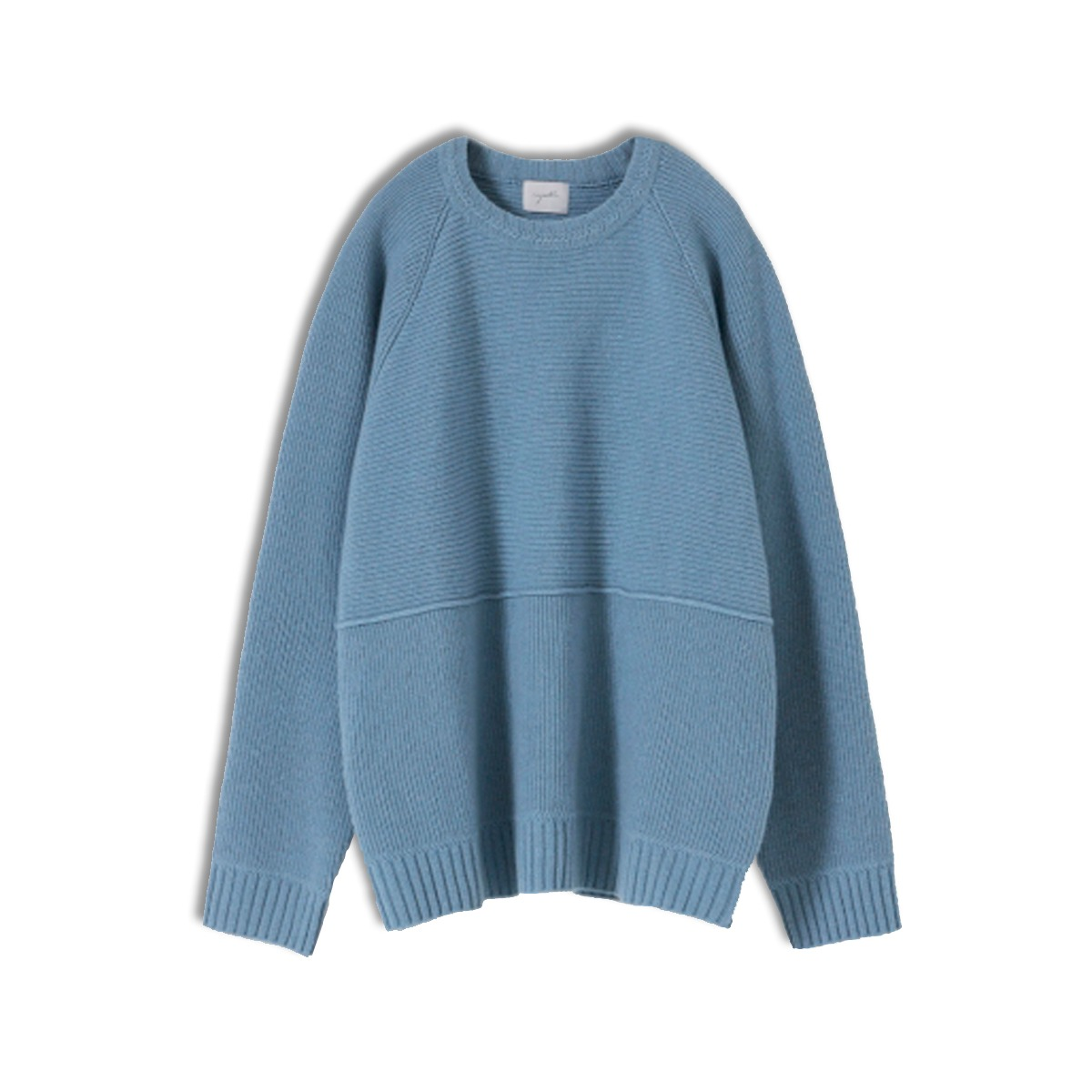[YOUTH] STRUCTURED SWEATER 'PALE BLUE'
