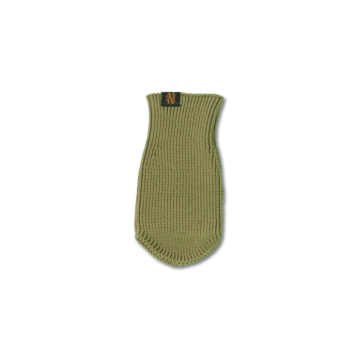 [BATONER] SIGNATURE WOOL ARM WARMER (SHORT) 'L.KHAKI'