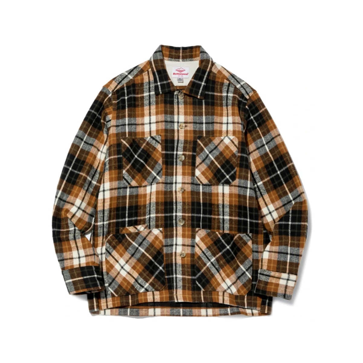 [BATTENWEAR] FIVE POCKET CANYON SHIRT 'CHESTNUT PLAID'