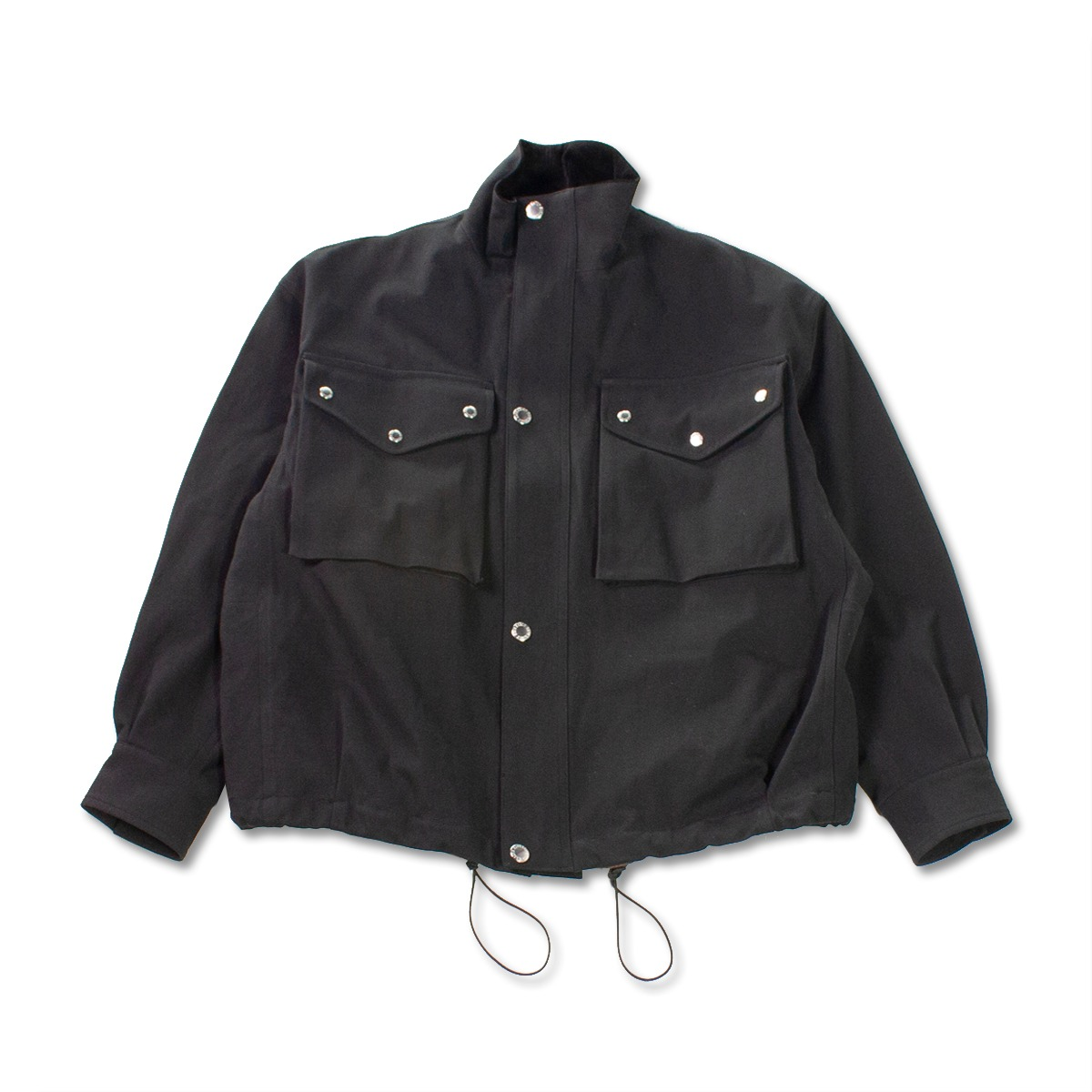 [HAVERSACK] TWILL DENISON JACKET 'BLACK'