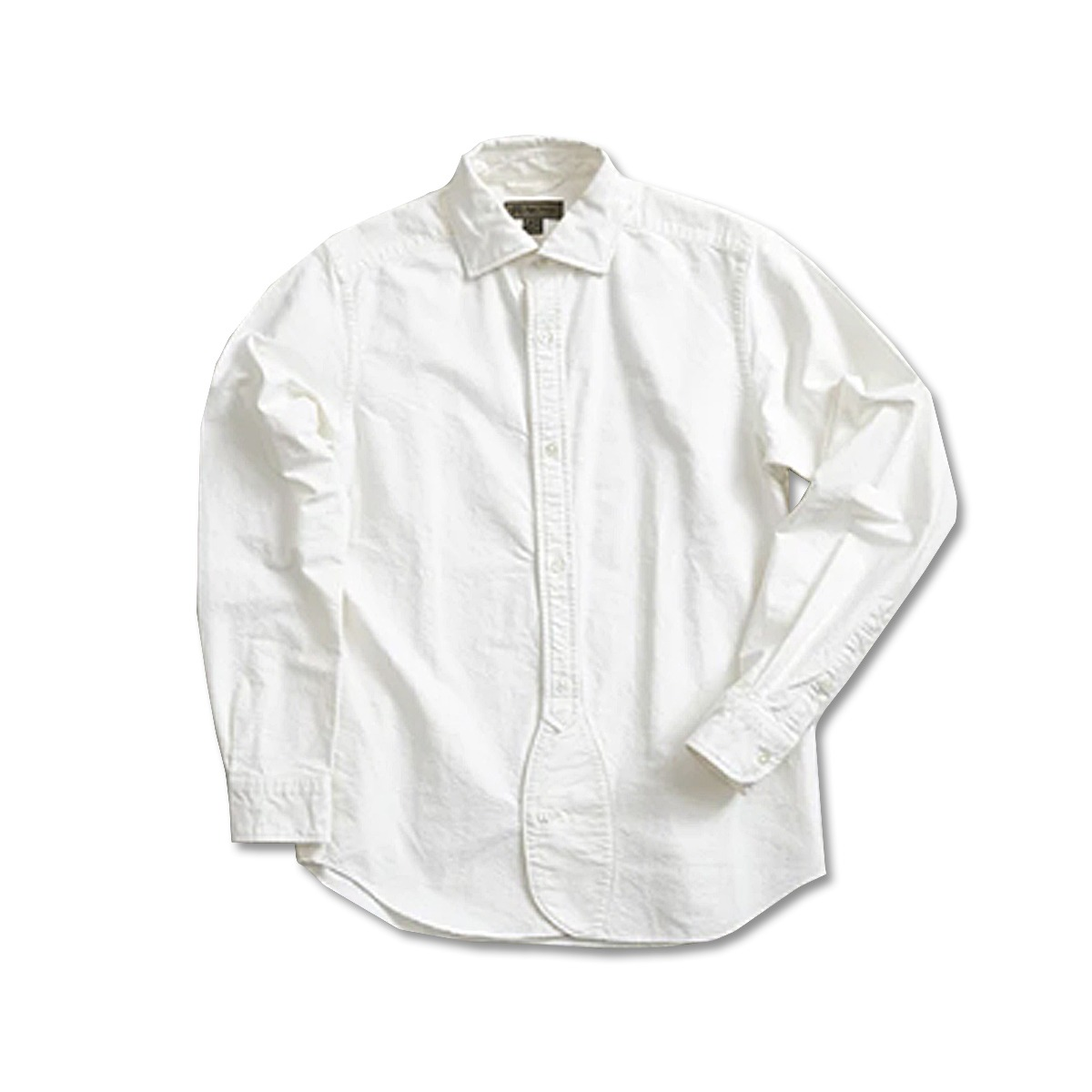 [NIGEL CABOURN] BRITISH OFFICERS SHIRT 'WHITE'