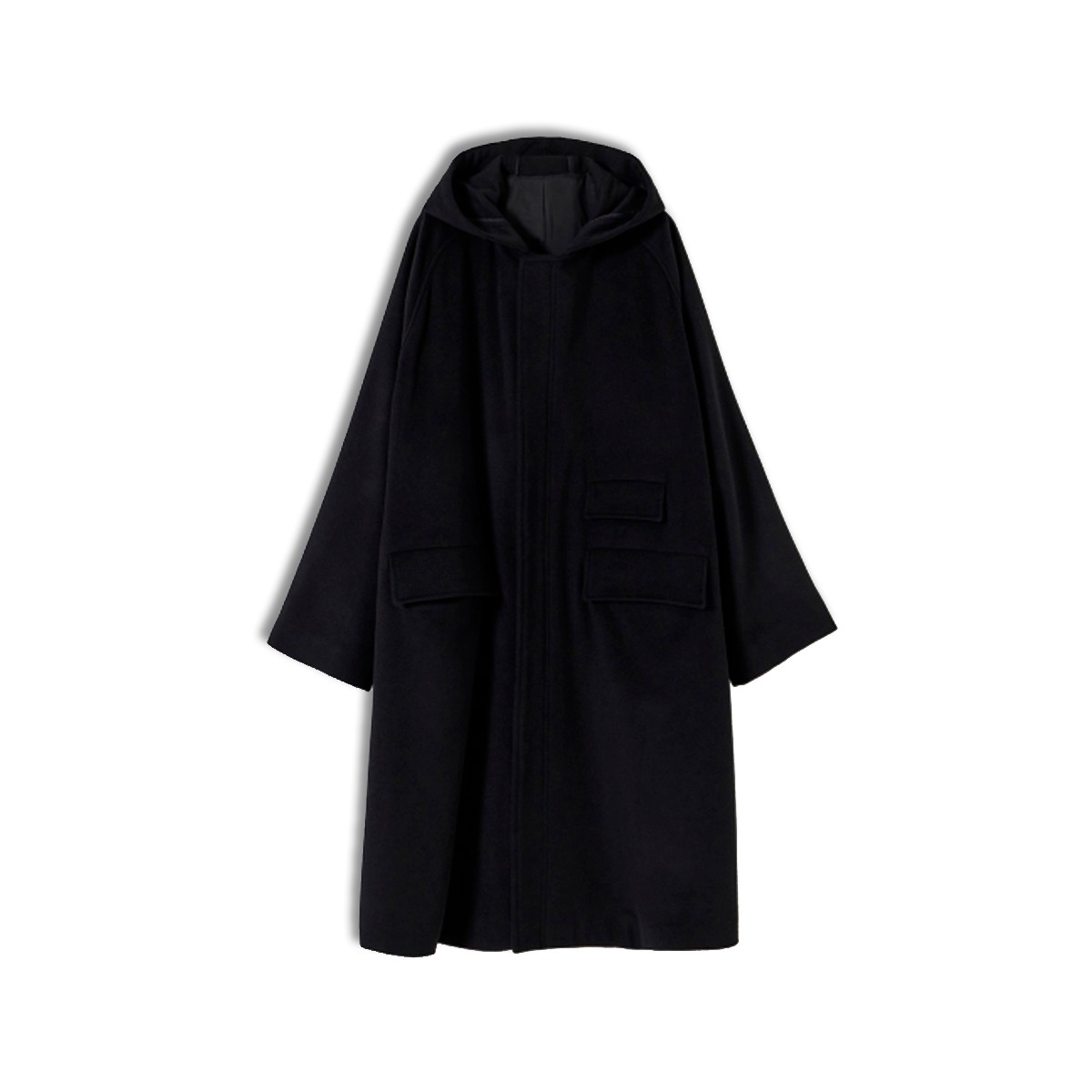 [YOUTH] HOODED COAT 'BLACK'
