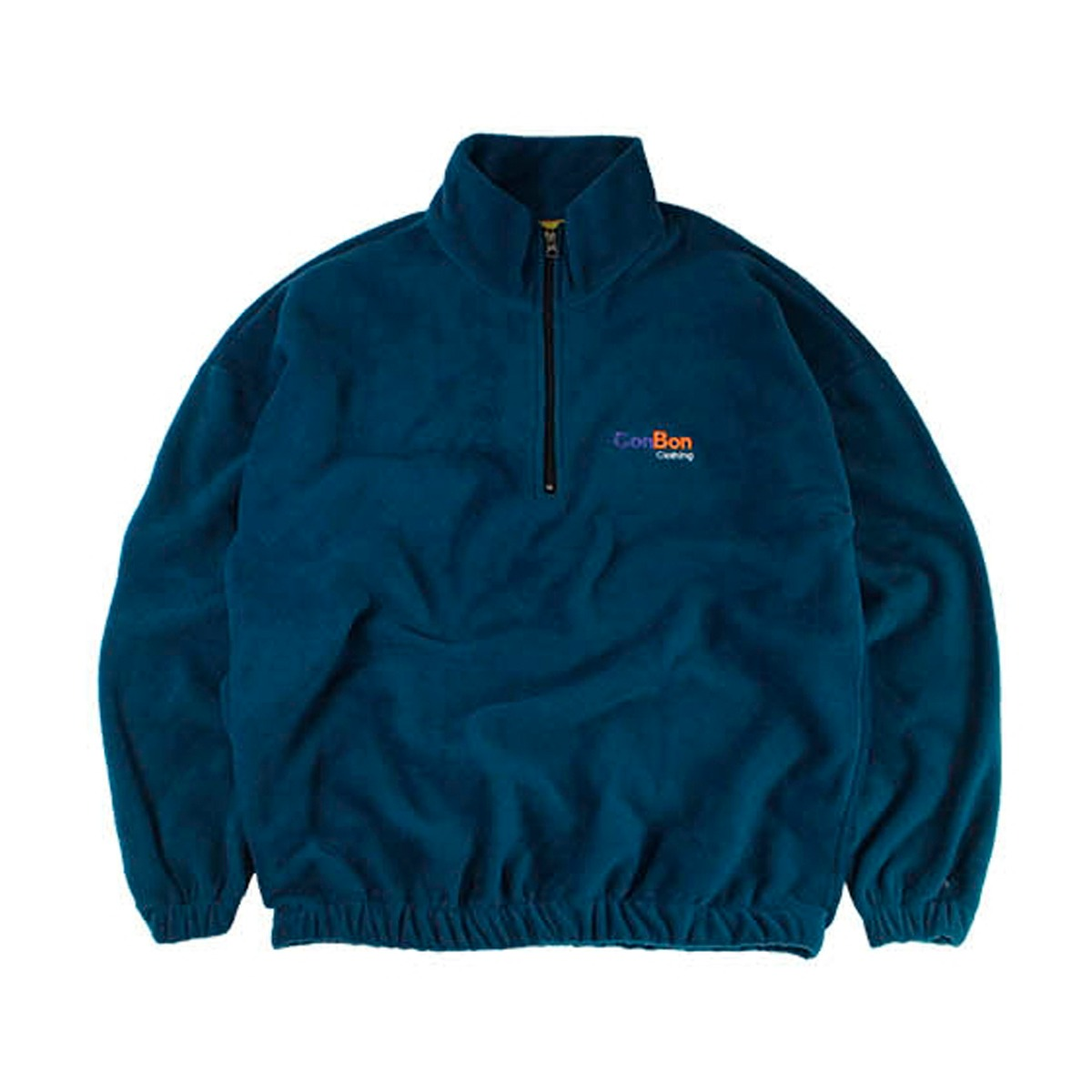 [CONICHIWA BONJOUR] EXPRESS FLEECE ZIP 'BLUEGREEN'