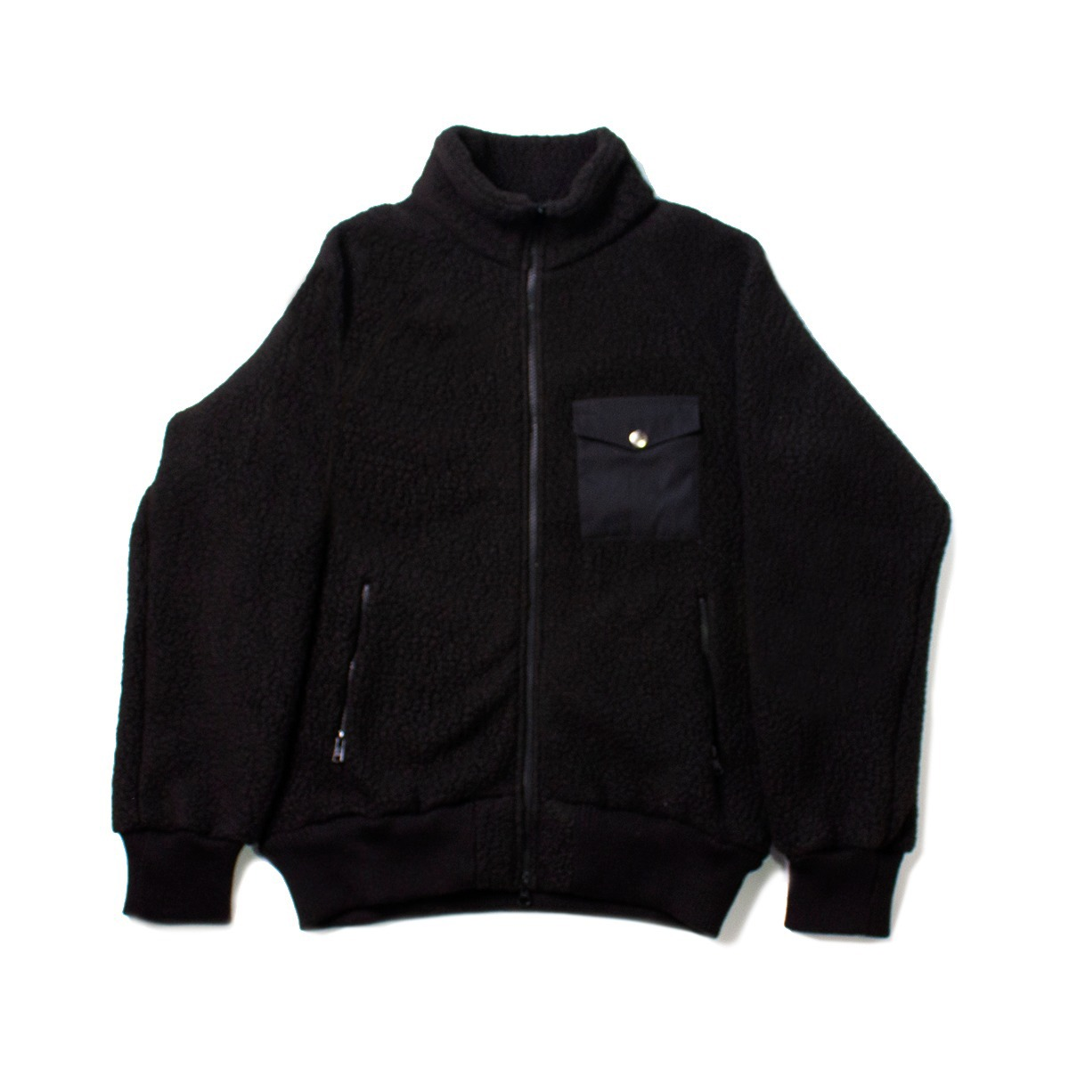 [BATTENWEAR] WARM-UP FLEECE 'BLACK'
