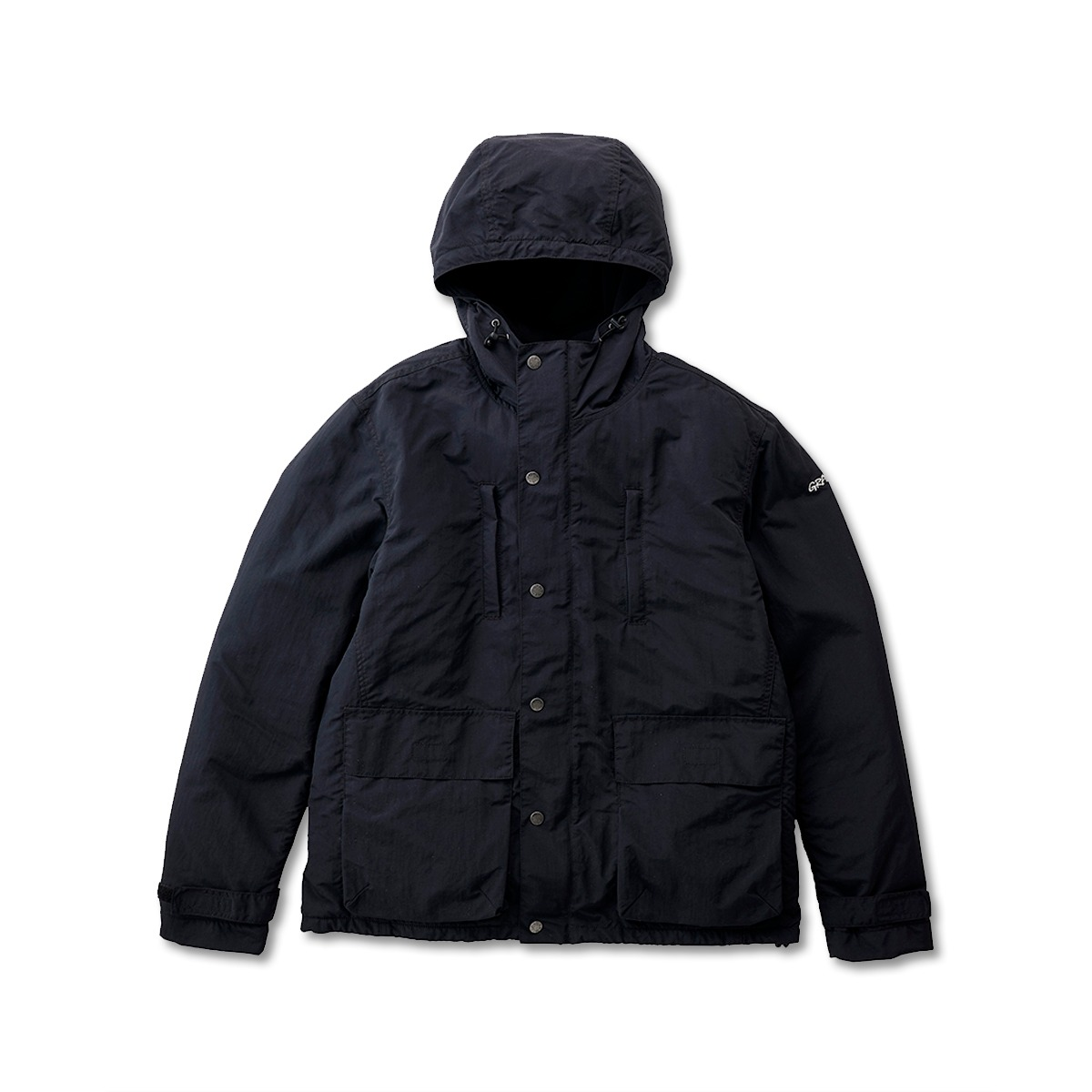 [GRAMICCI] SHELL MOUNTAIN PARKA 'BLACK'