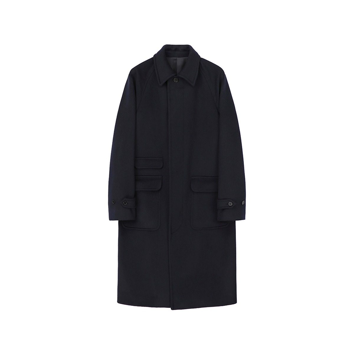[ART IF ACTS] BALMACAAN COAT 'NAVY'