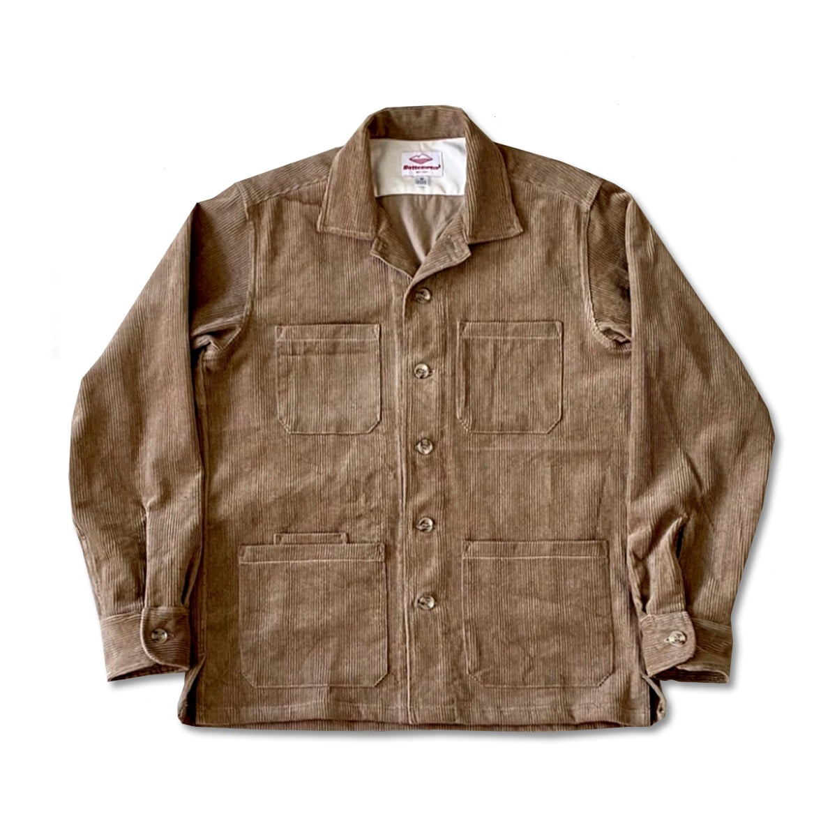 [BATTENWEAR] FIVE POCKET CANYON SHIRT 'ACORN'