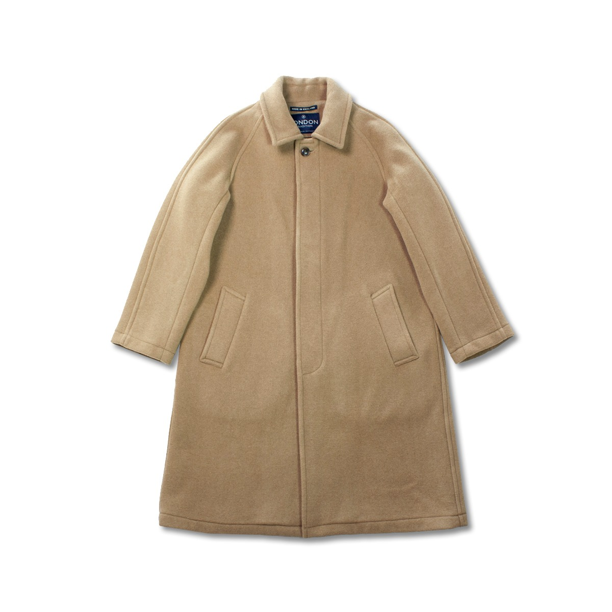[LONDON TRADITION] MENS R06 FLY FRONT COAT 'NEW CAMEL'
