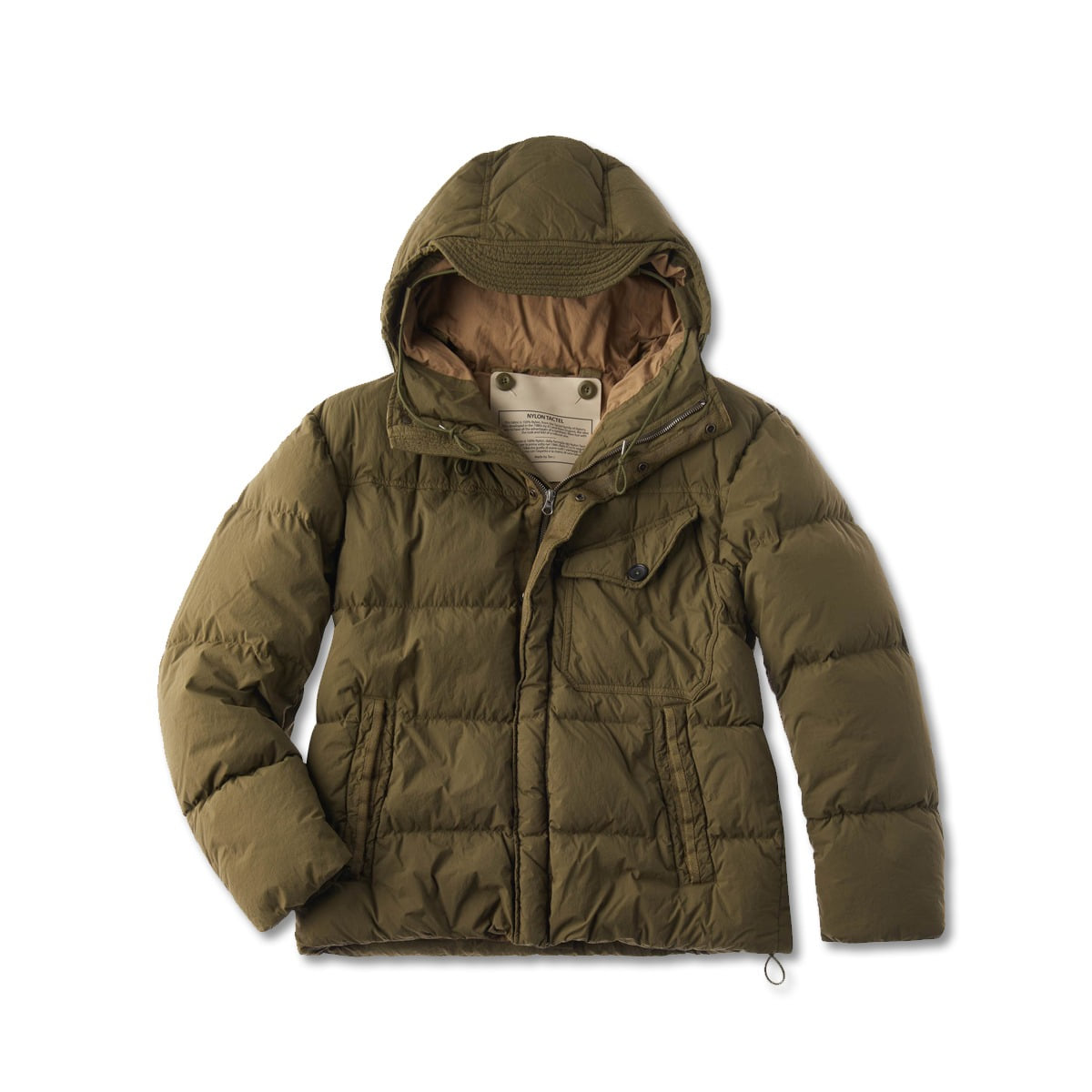 [TEN C] SURVIVAL DOWN JACKET 'KHAKI'