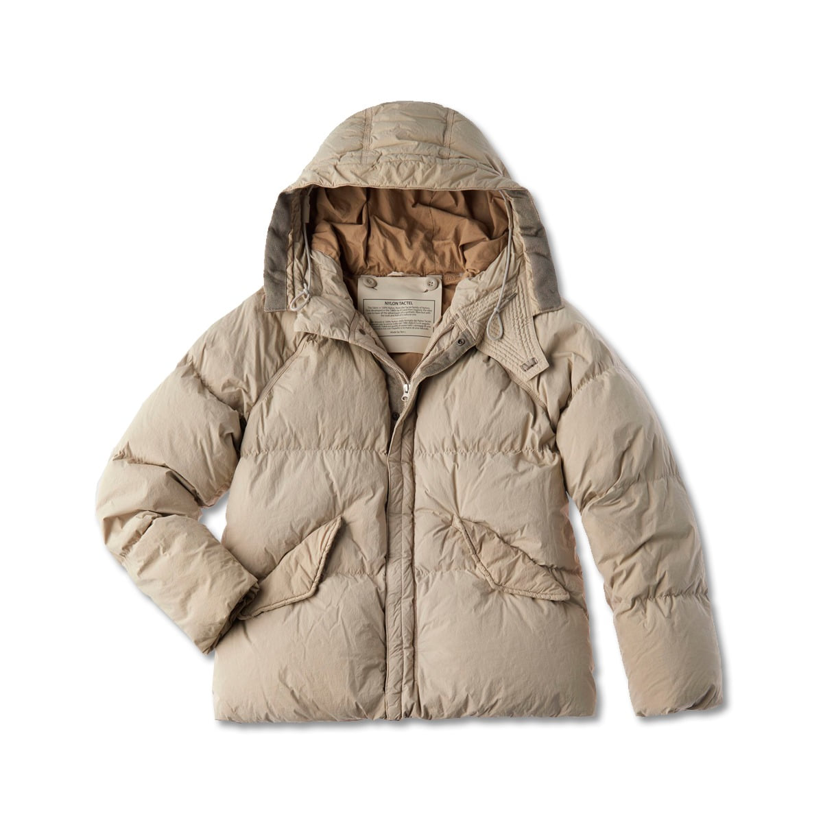 [TEN C] ARTIC DOWN PARKA 'GAUZE WHITE'
