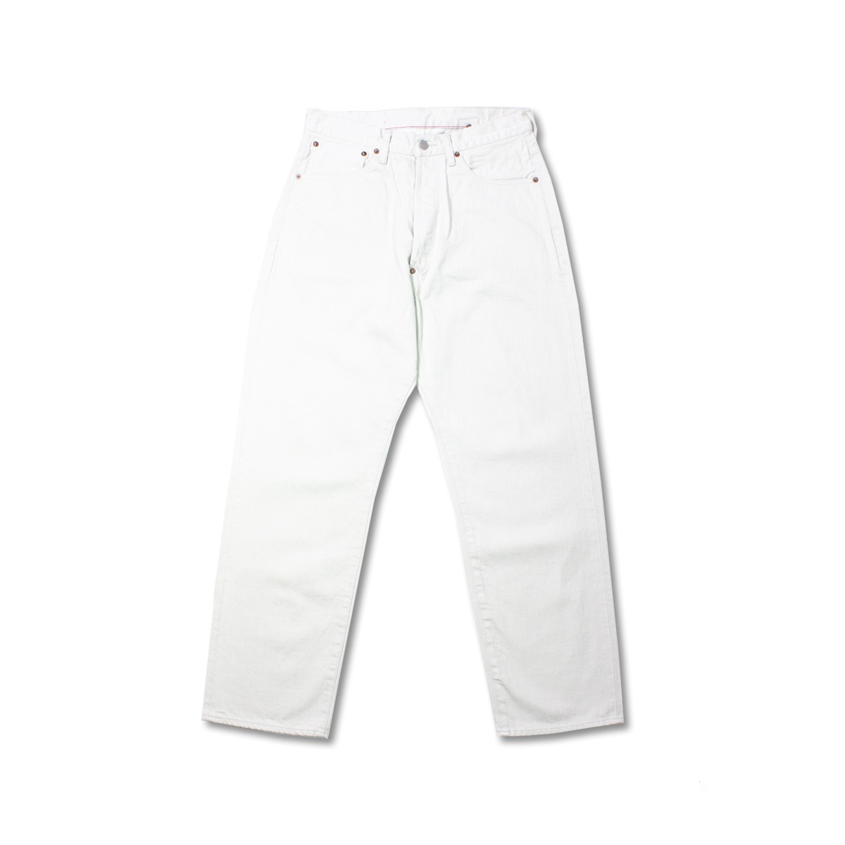 [ORDINARY FITS] 20FW NEW FARMERS 5P DENIM 'WHITE'