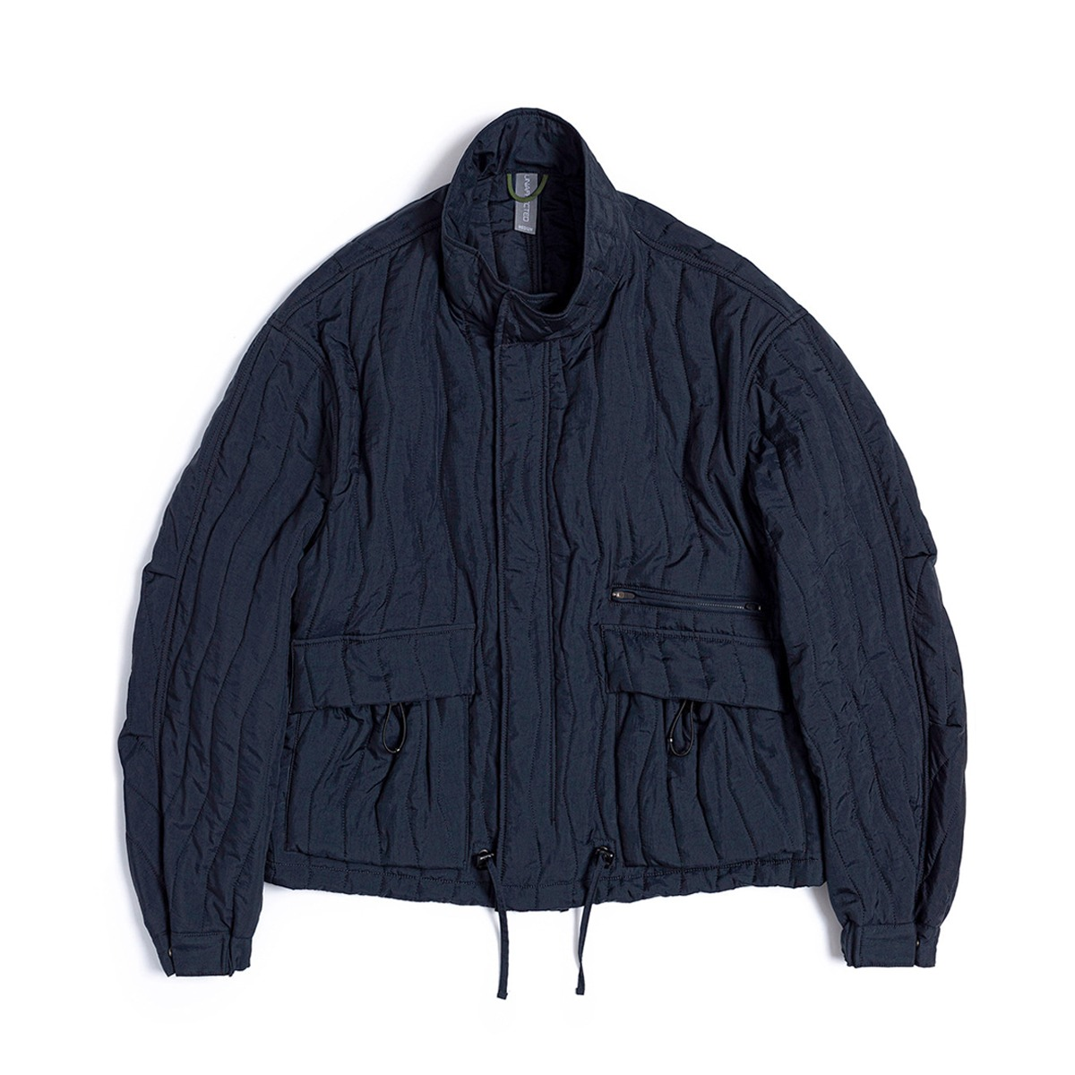 NEW [UNAFFECTED] QUILTED BLOUSON 'NAVY'