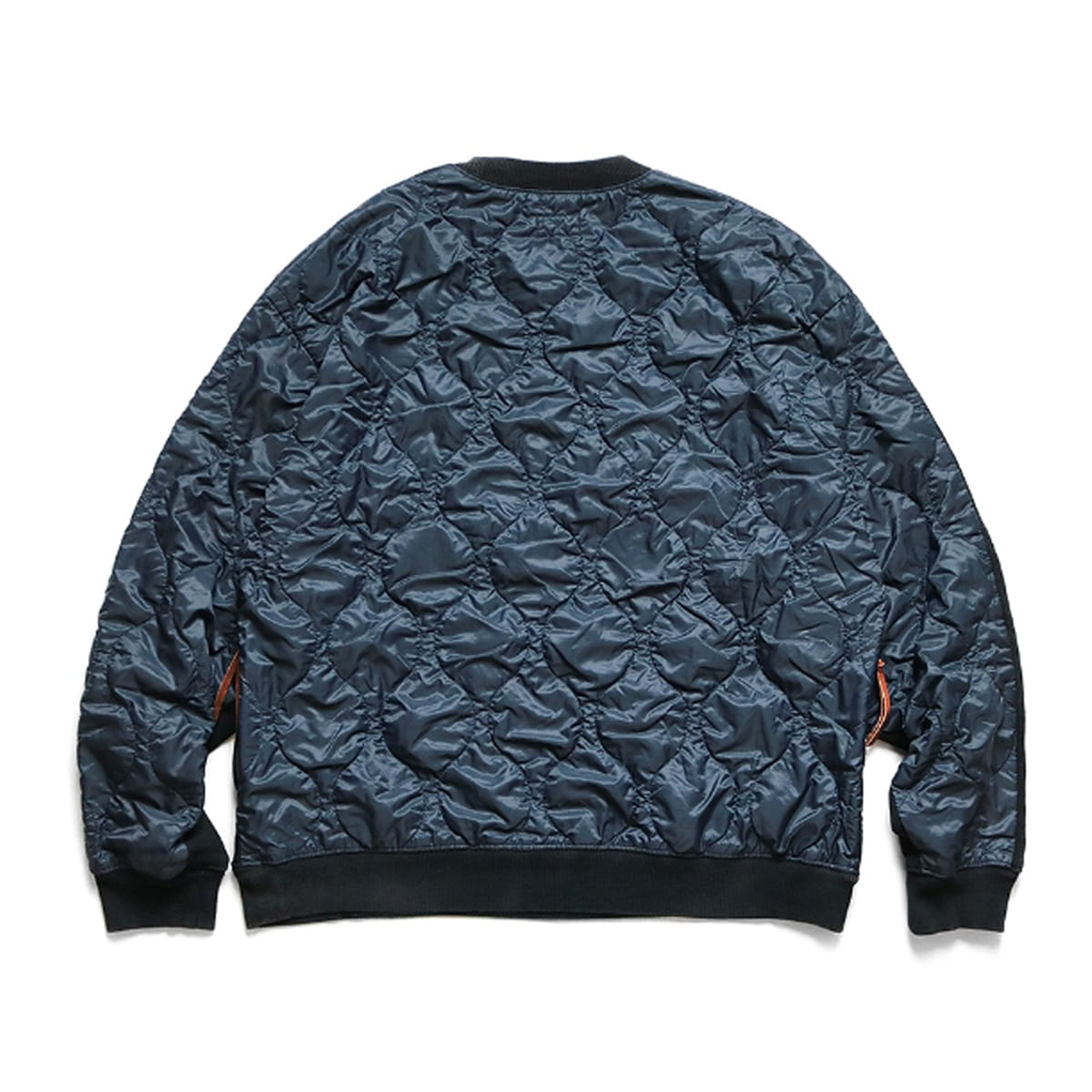 [KAPITAL] FLEECE KNIT BIVOUAC BIG SWT 'BLACK'