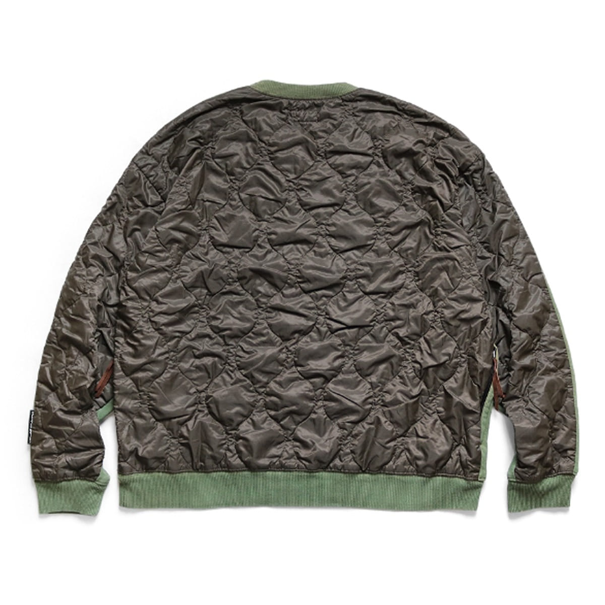 [KAPITAL] FLEECE KNIT BIVOUAC BIG SWT 'KHAKI'