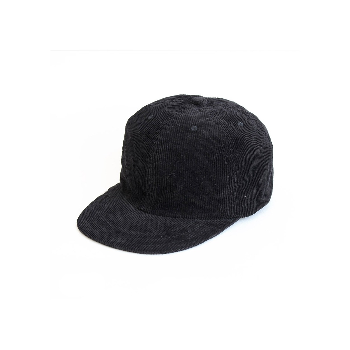 [DECHO] LEATHERBUCKLE CAP 'BLACK'