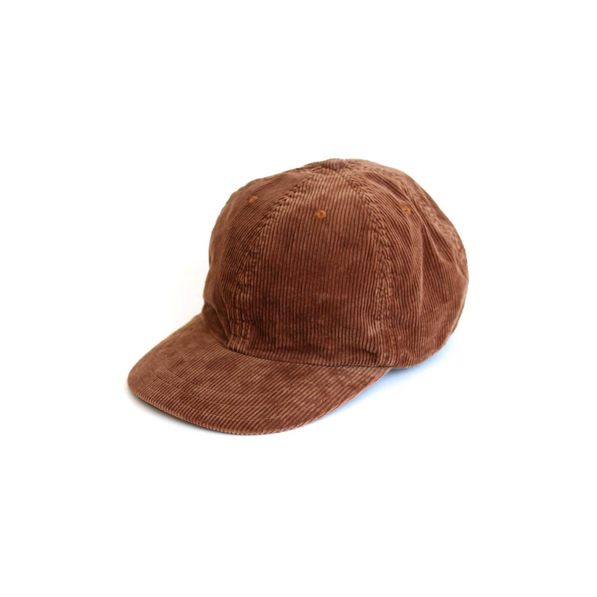 [DECHO] LEATHERBUCKLE CAP 'BROWN'