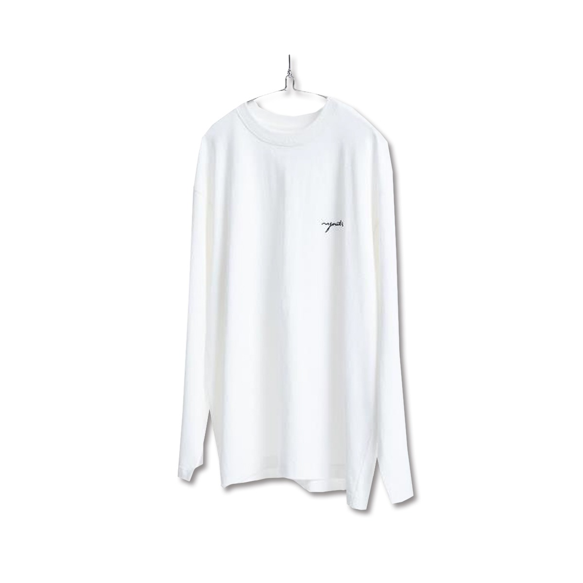 [YOUTH] L/S LOGO T-SHIRT 'WHITE'