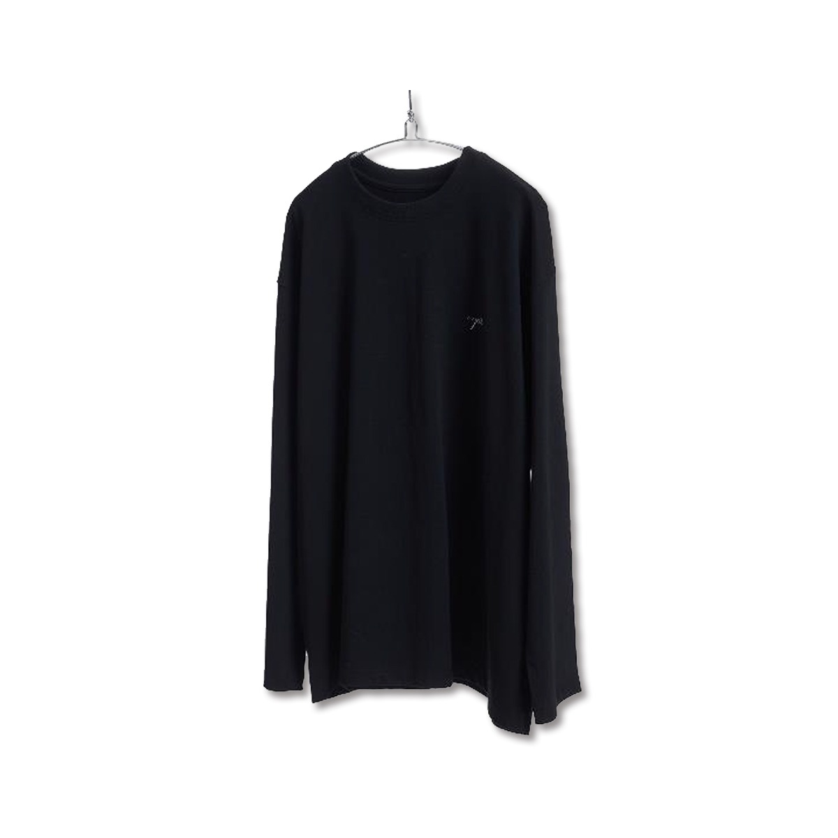 [YOUTH] L/S LOGO T-SHIRT 'BLACK'