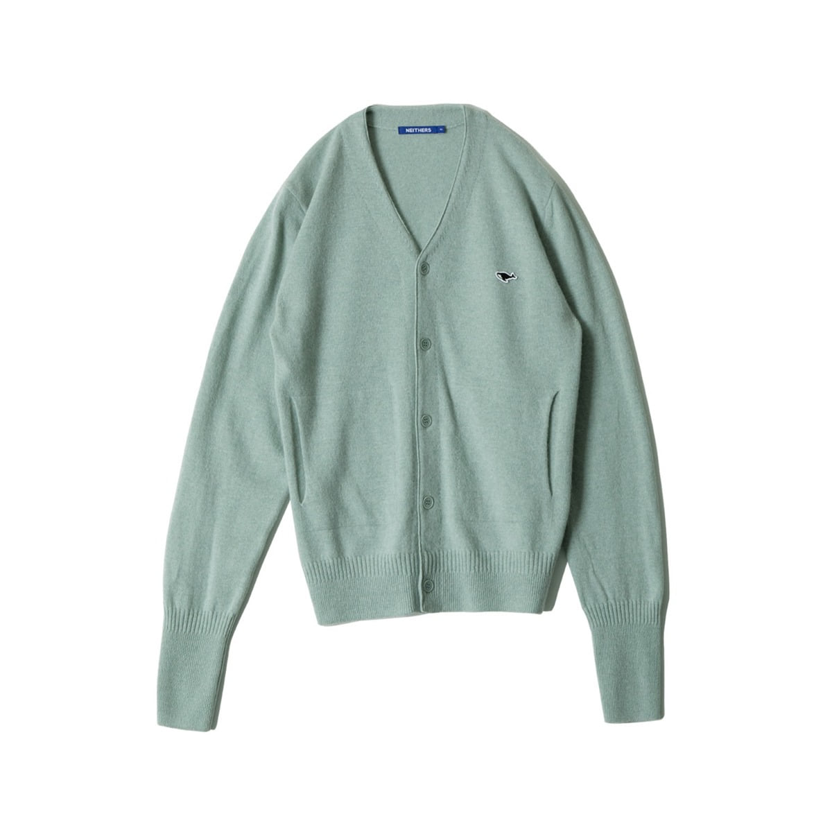 [NEITHERS] MERINO WOOL CARDIGAN 'GREEN'