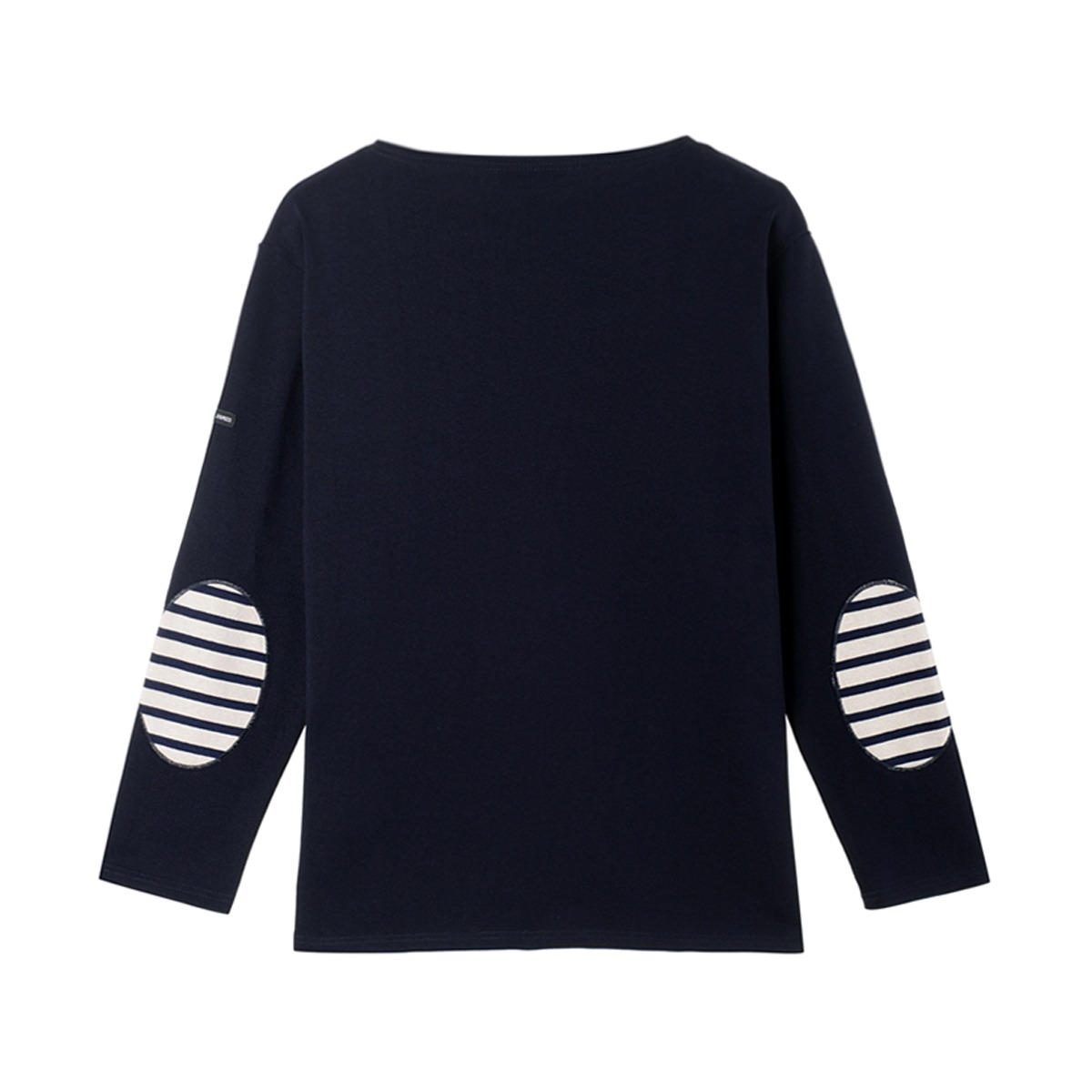 [SAINT JAMES] GUILDO U ELBOW PATCH 'NAVY'