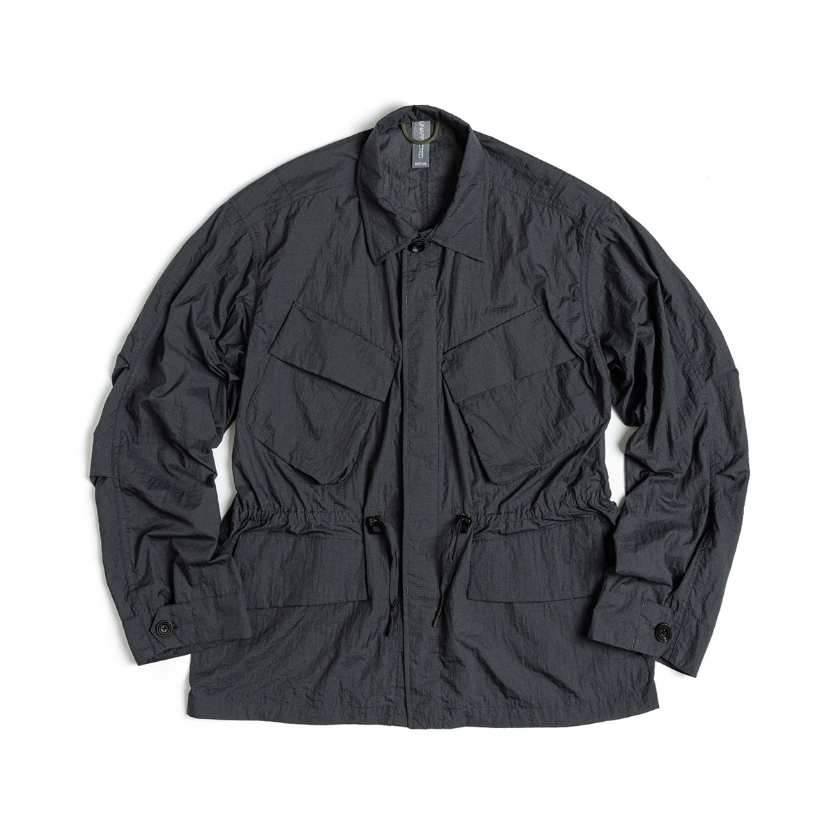[UNAFFECTED] JUNGLE FIELD JACKET 'CHARCOAL BLUE'