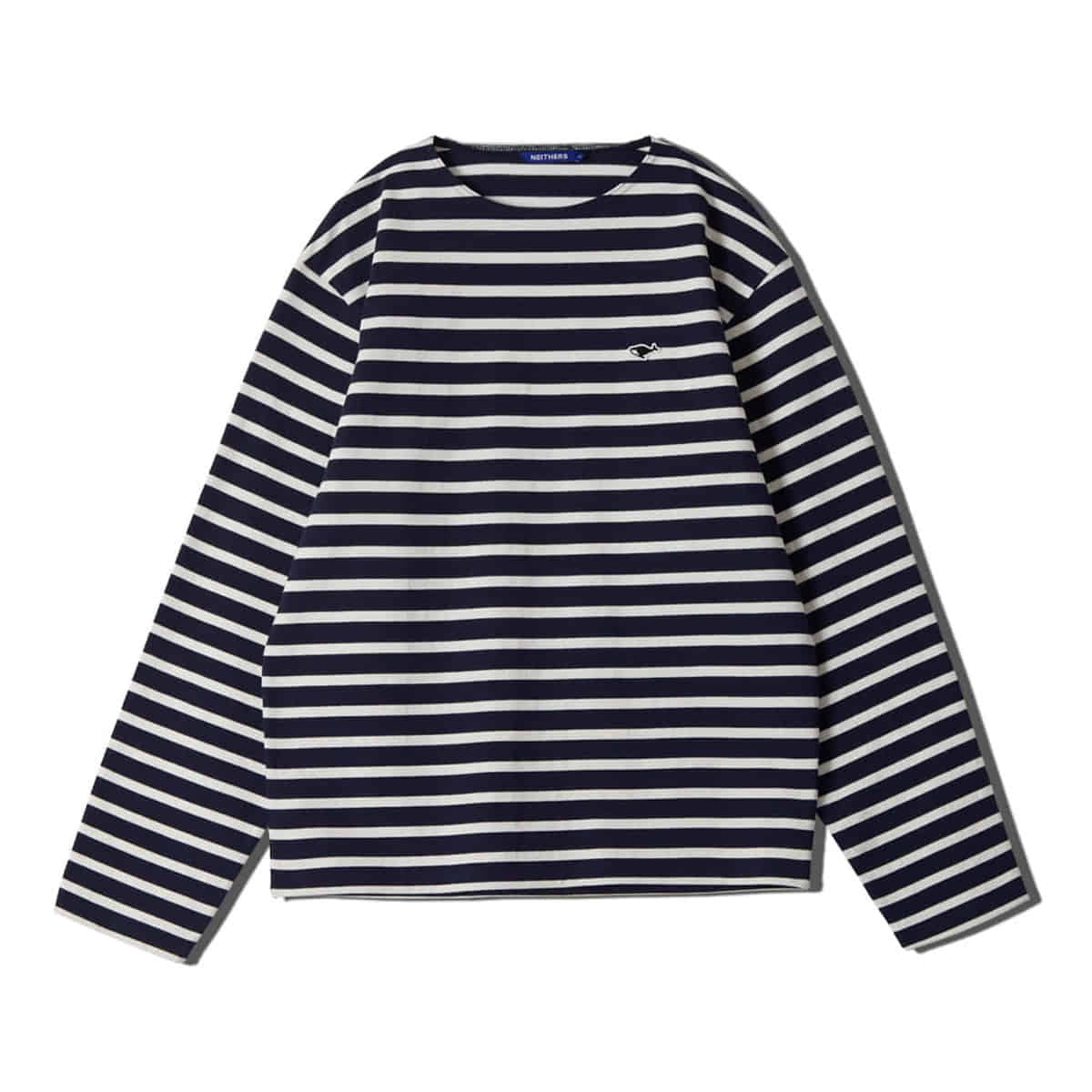 [NEITHERS] STRIPE L/S T-SHIRT 'NAVY'