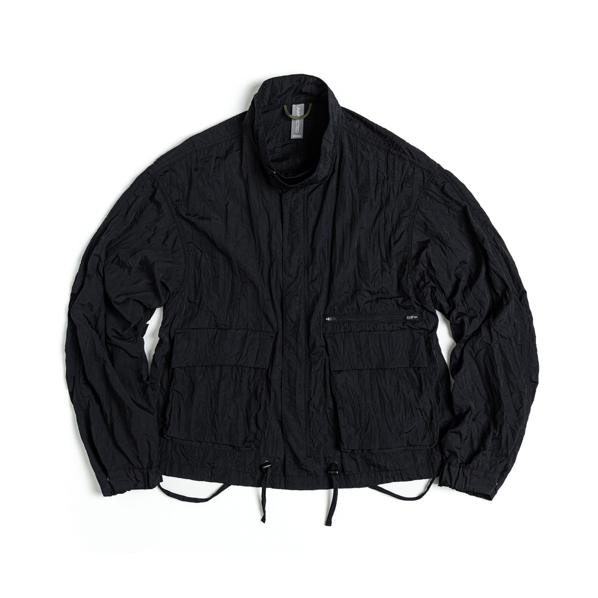 [UNAFFECTED] AG OVERSIZED BLOUSON 'BLACK'