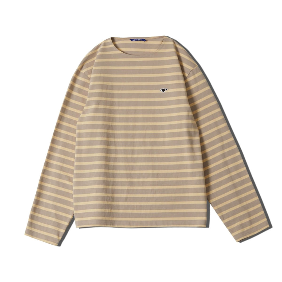 [NEITHERS] STRIPE L/S T-SHIRT 'BEIGE'