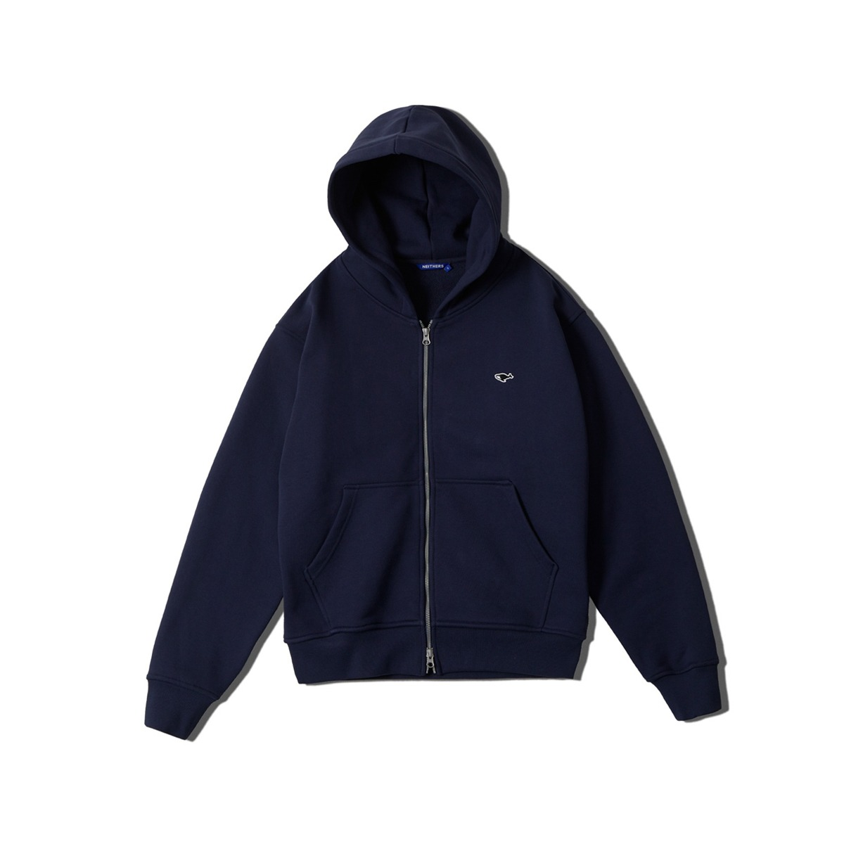 [NEITHERS] HOODIE ZIP UP 'NAVY'