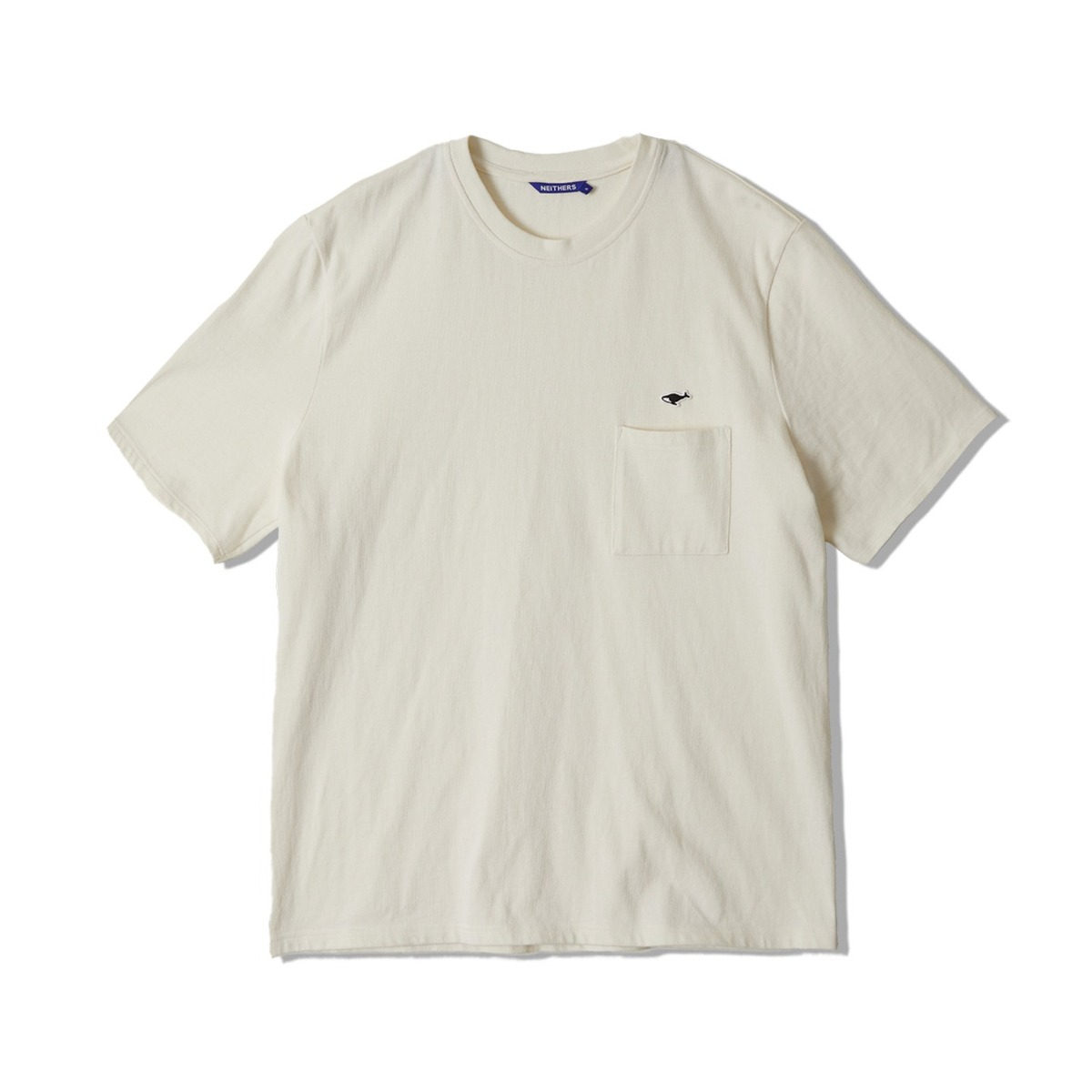 [NEITHERS] 1-POCKET T-SHIRT 'OFF WHITE'