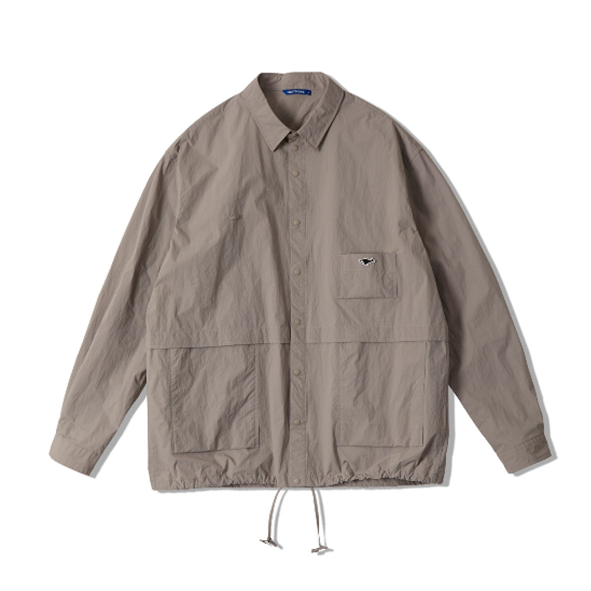 [NEITHERS] UTILITY SHIRT 'GREY'