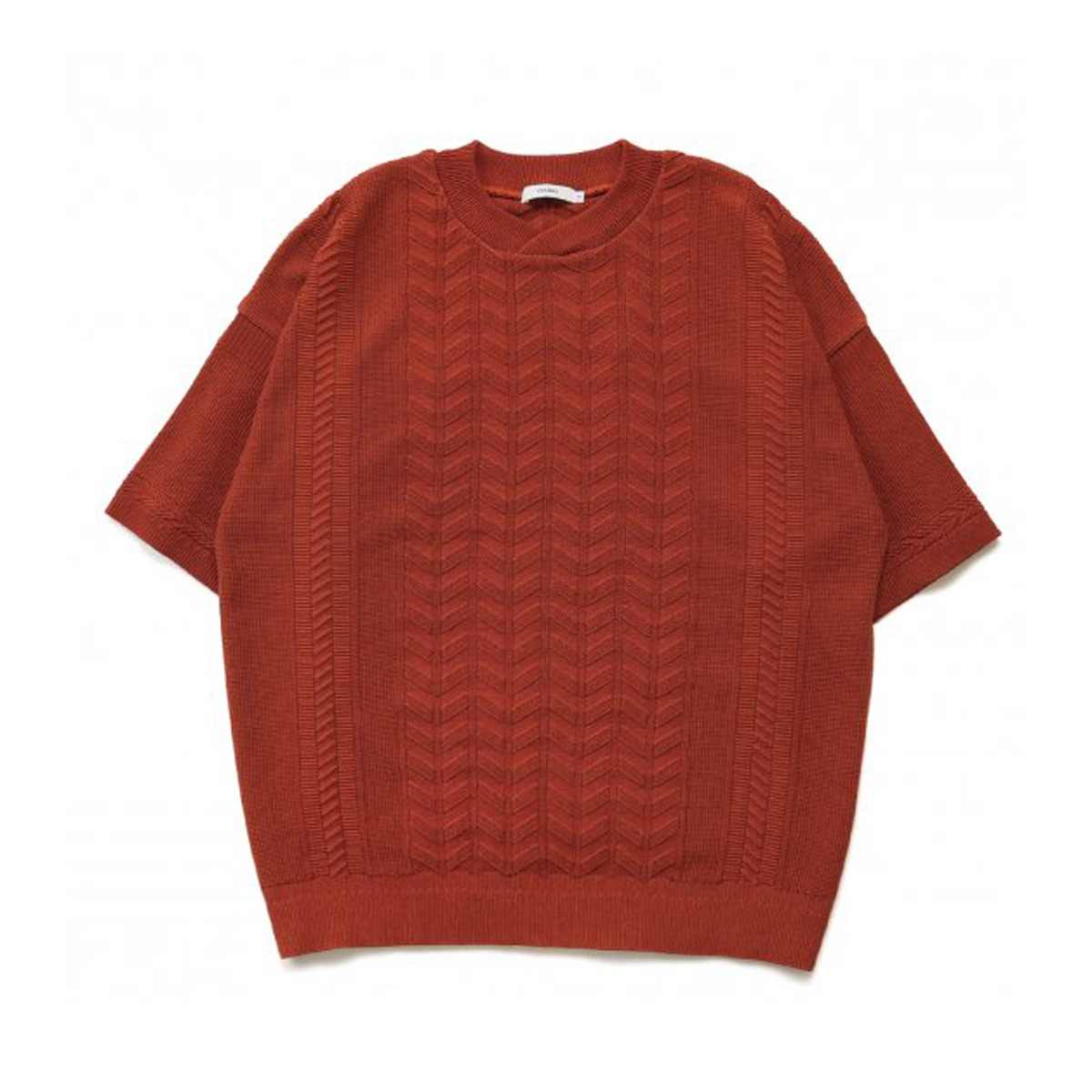 [YASHIKI] RYUREI KNIT 'ORANGE'