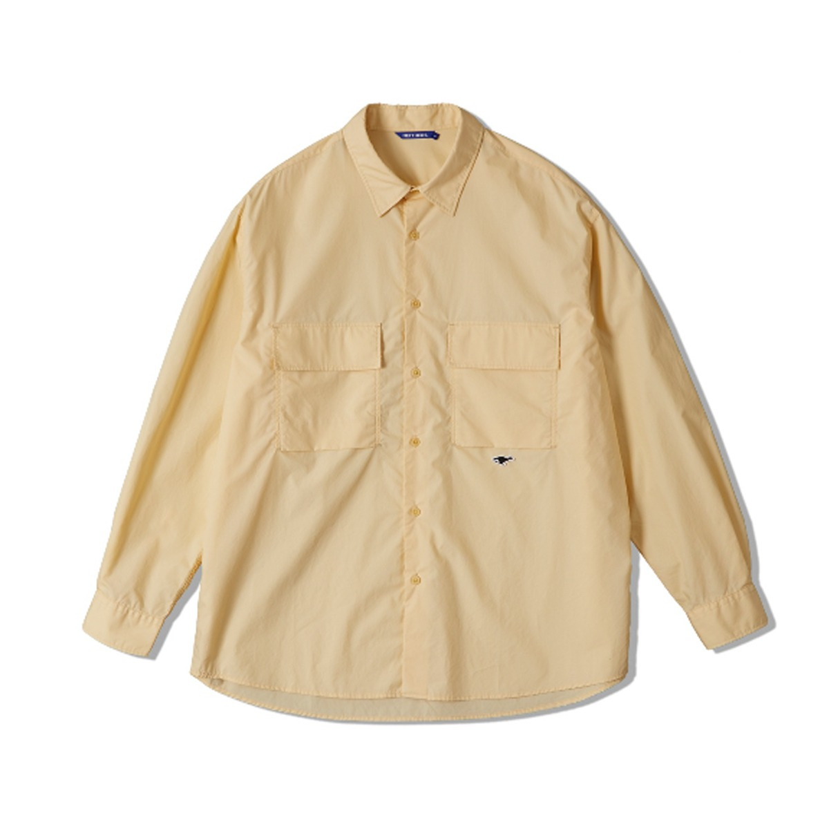 [NEITHERS] 2-POCKET WIDE SHIRT 'IVORY'