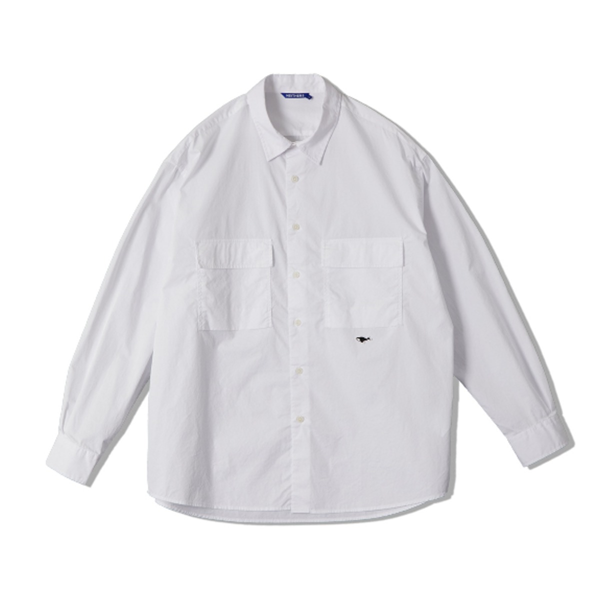 [NEITHERS] 2-POCKET WIDE SHIRT 'OFF WHITE'