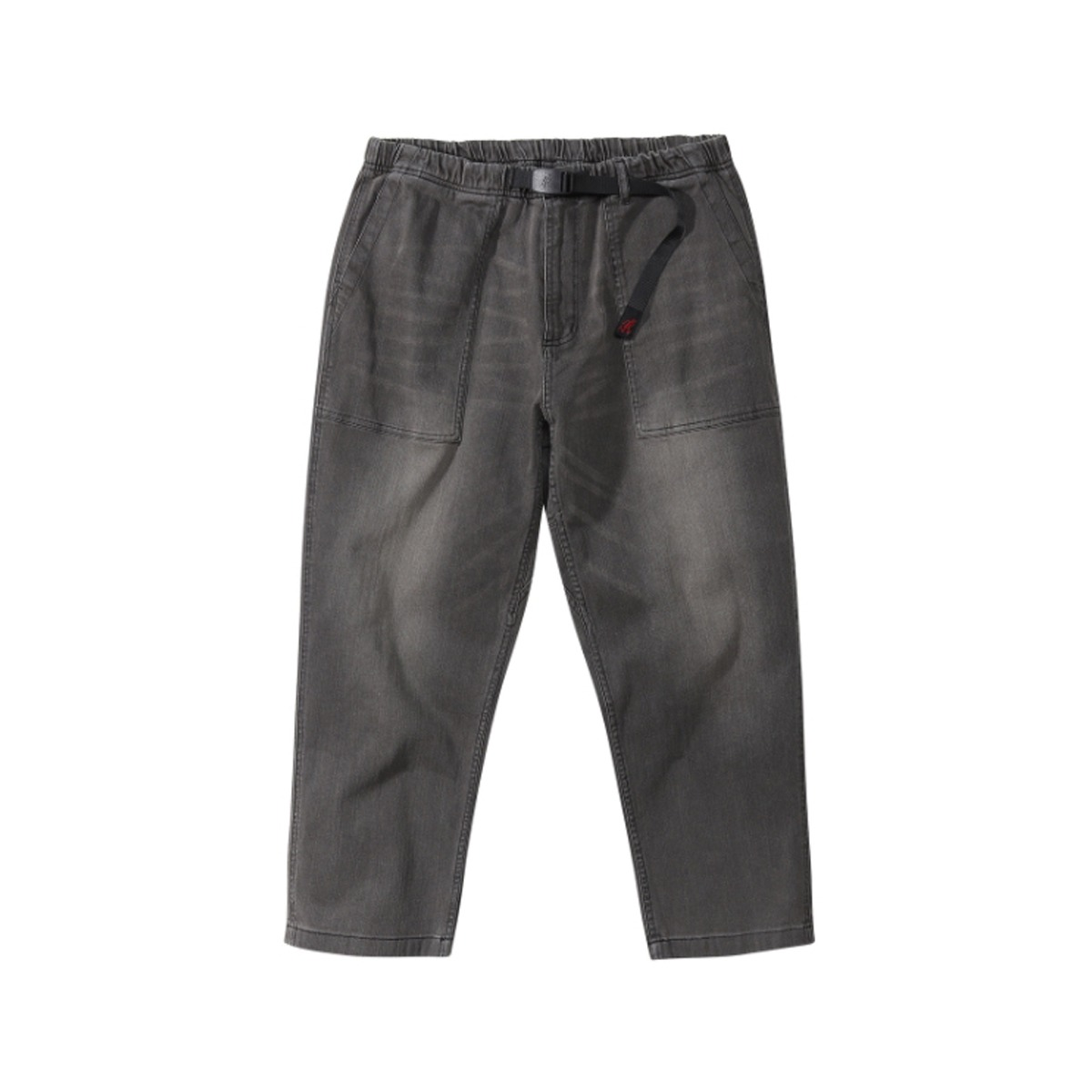 [GRAMICCI] GRAMICCI DENIM LOOSE TAPERED PANTS 'BLACK USED'