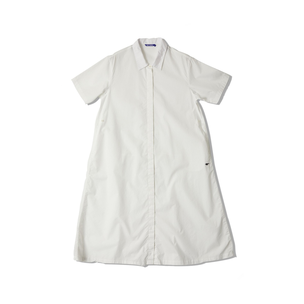 [NEITHERS] COMFORT S/S DRESS 'OFF WHITE'
