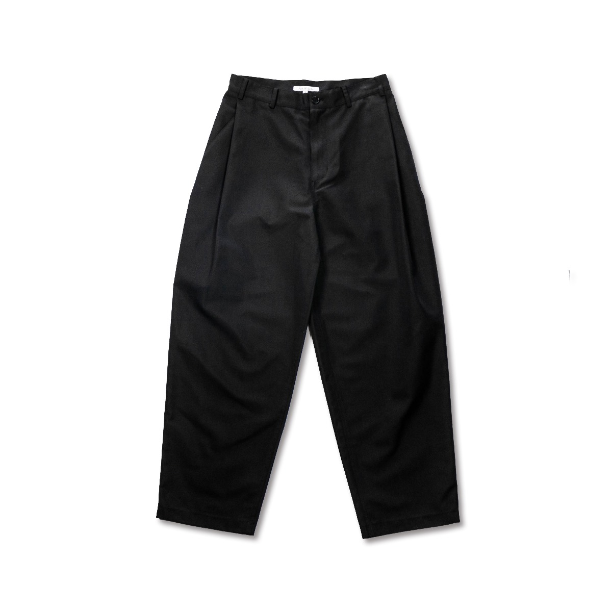 [ART IF ACTS] SIDE TUCKED PANTS 'BLACK'