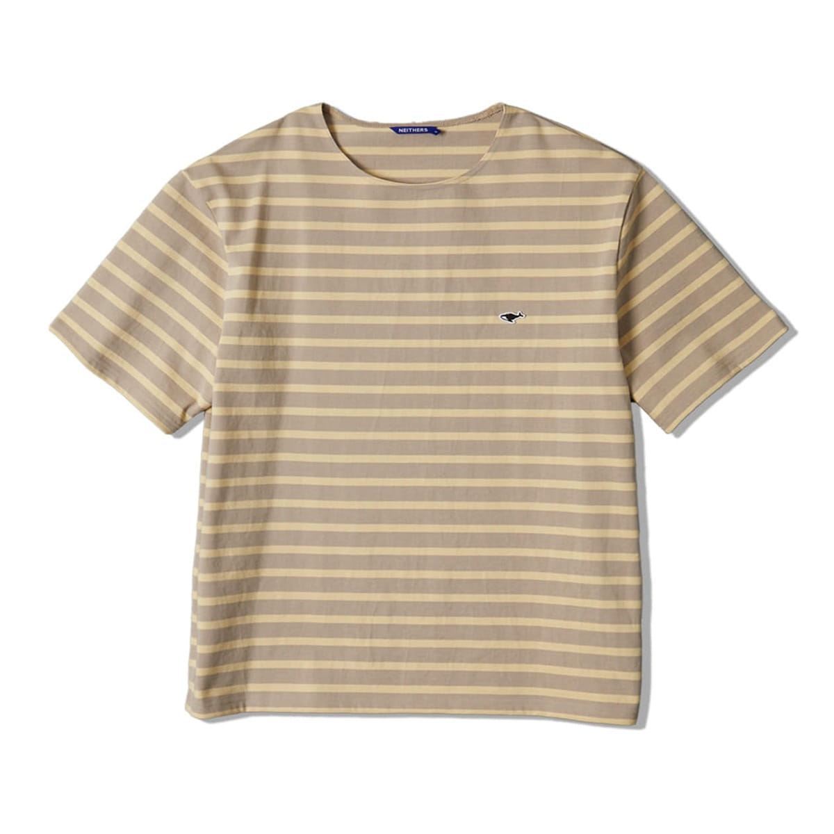 [NEITHERS] STRIPE S/S T-SHIRT 'BEIGE'