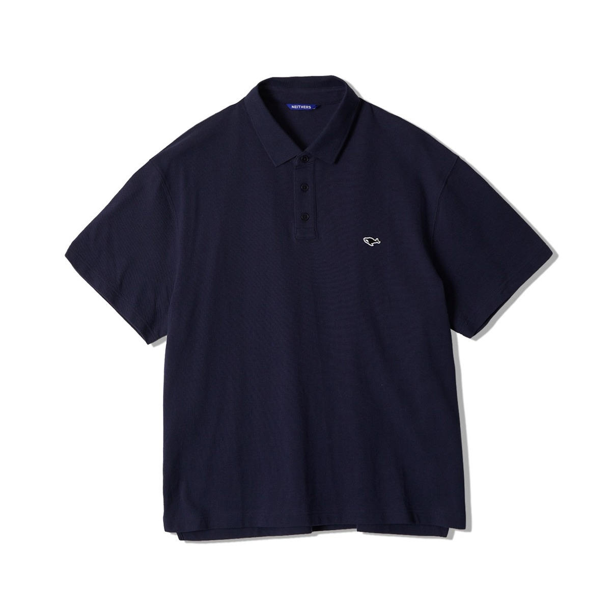 [NEITHERS] S POLO SHIRT 'NAVY'