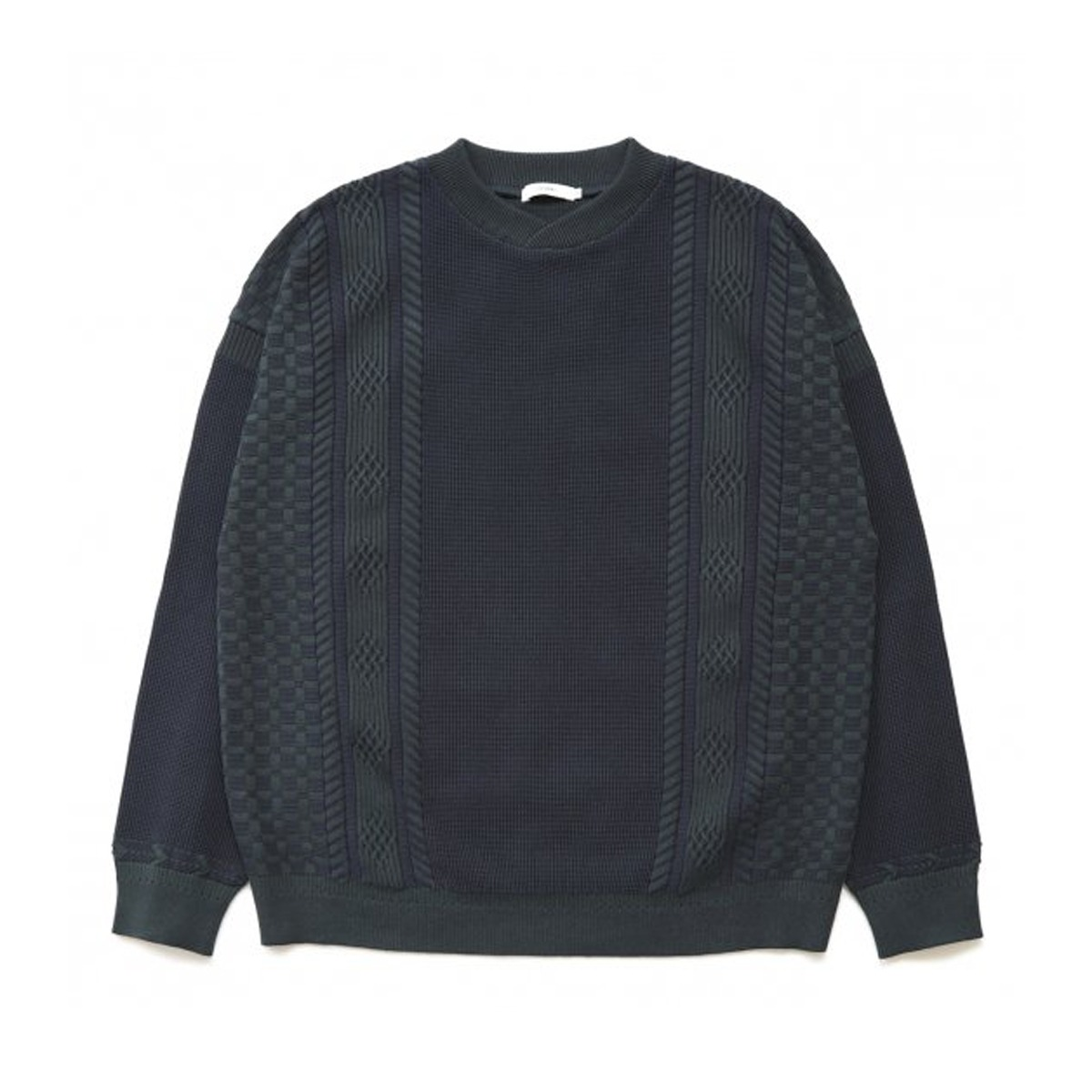 [YASHIKI] SHINGEN KNIT 'GREEN'