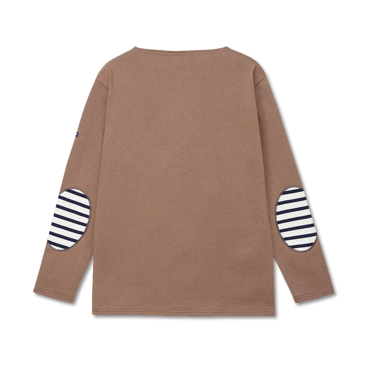 [SAINT JAMES]  GUILDO U ELBOW PATCH 'NOISETTE'