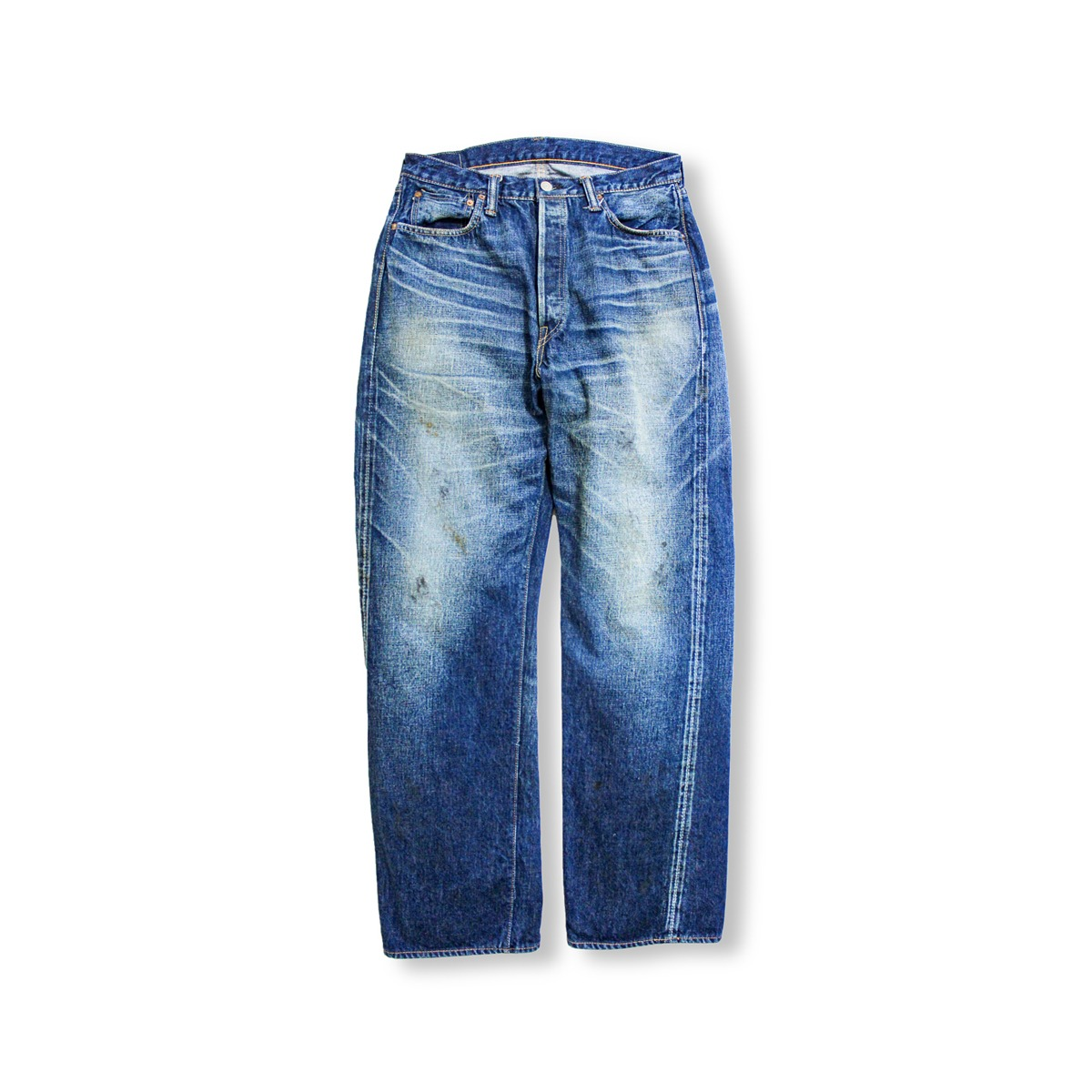 [FULLCOUNT] MORE THAN REAL STRAIGHT DENIM 'INDIGO BLUE'