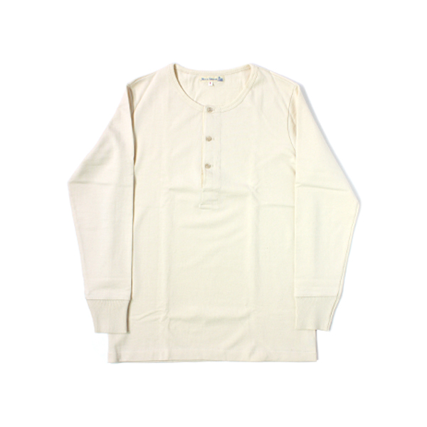 [Merz B. Schwanen] HENLEY LONG SLEEVE nature